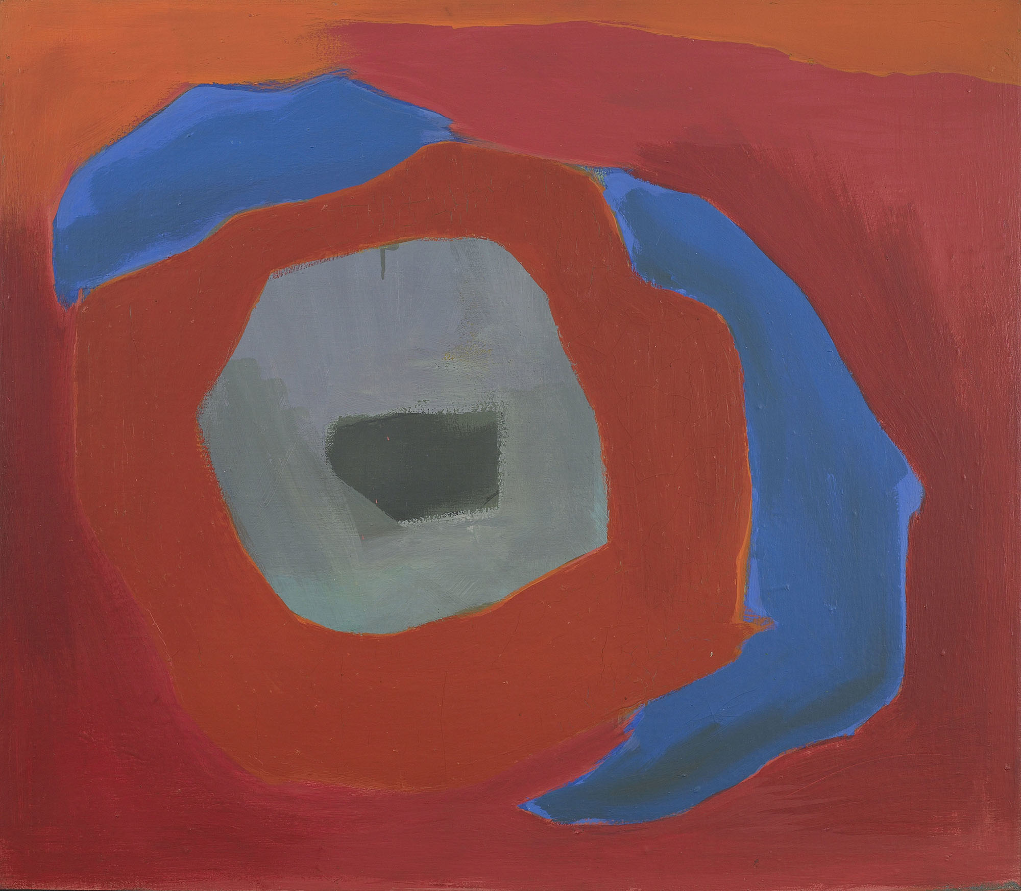 SOLD  Untitled (Bridgehampton)  , 1967, oil on canvas, 28 x 32 inches