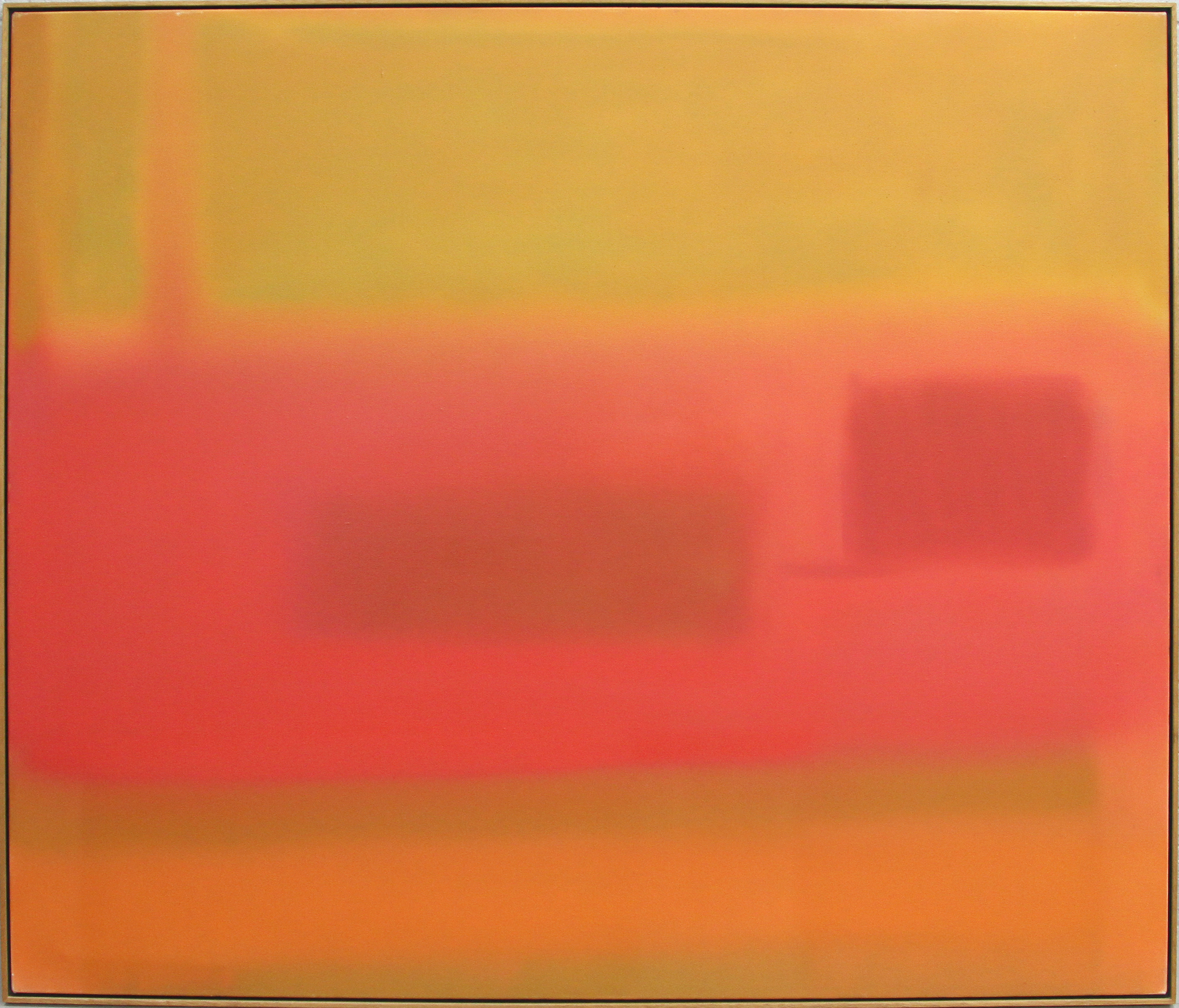 SOLD  October,   1980, Oil on canvas, 56 x 66 inches