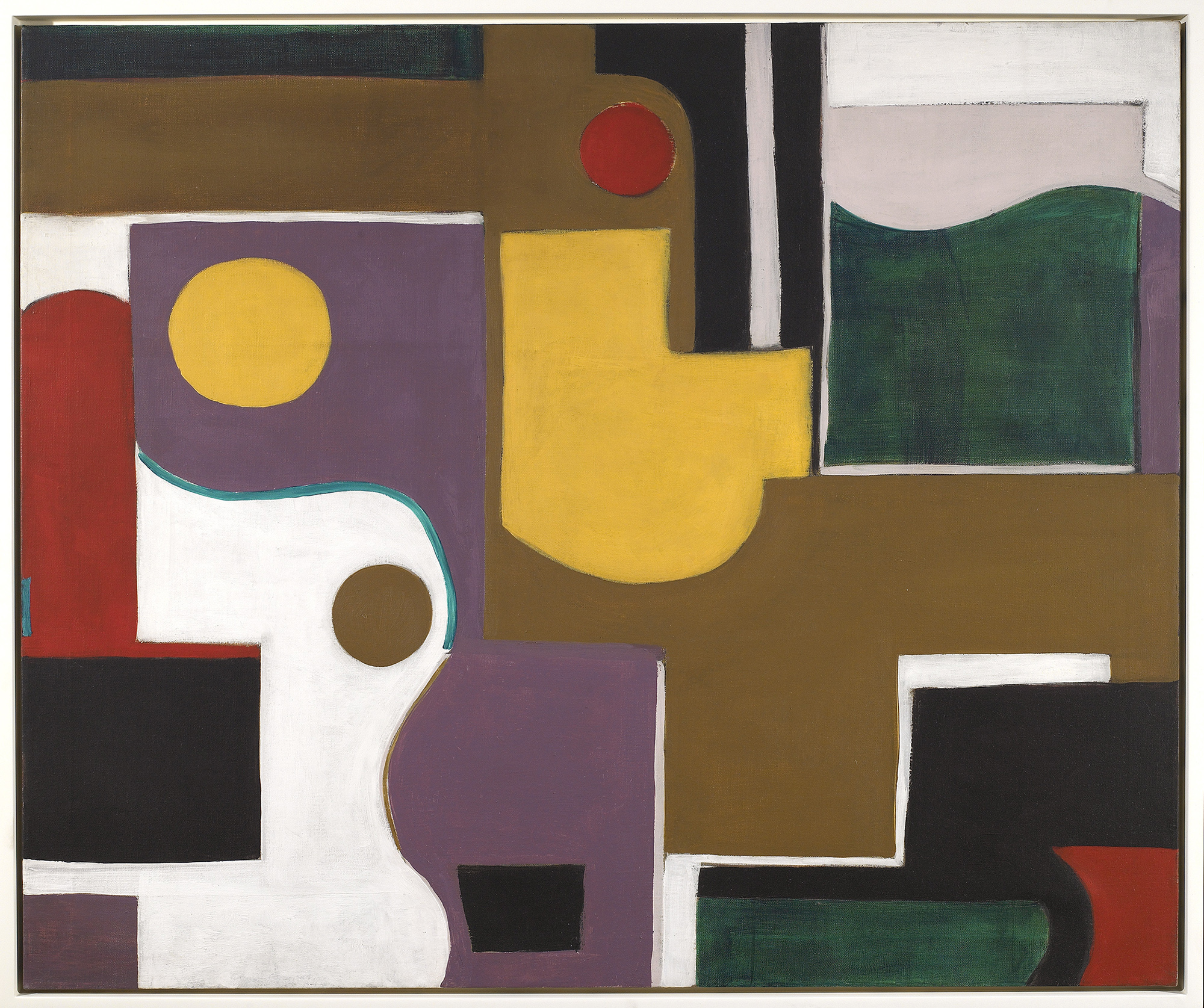 Studio,   Oil on canvas, 1950s, 30 x 36 inches