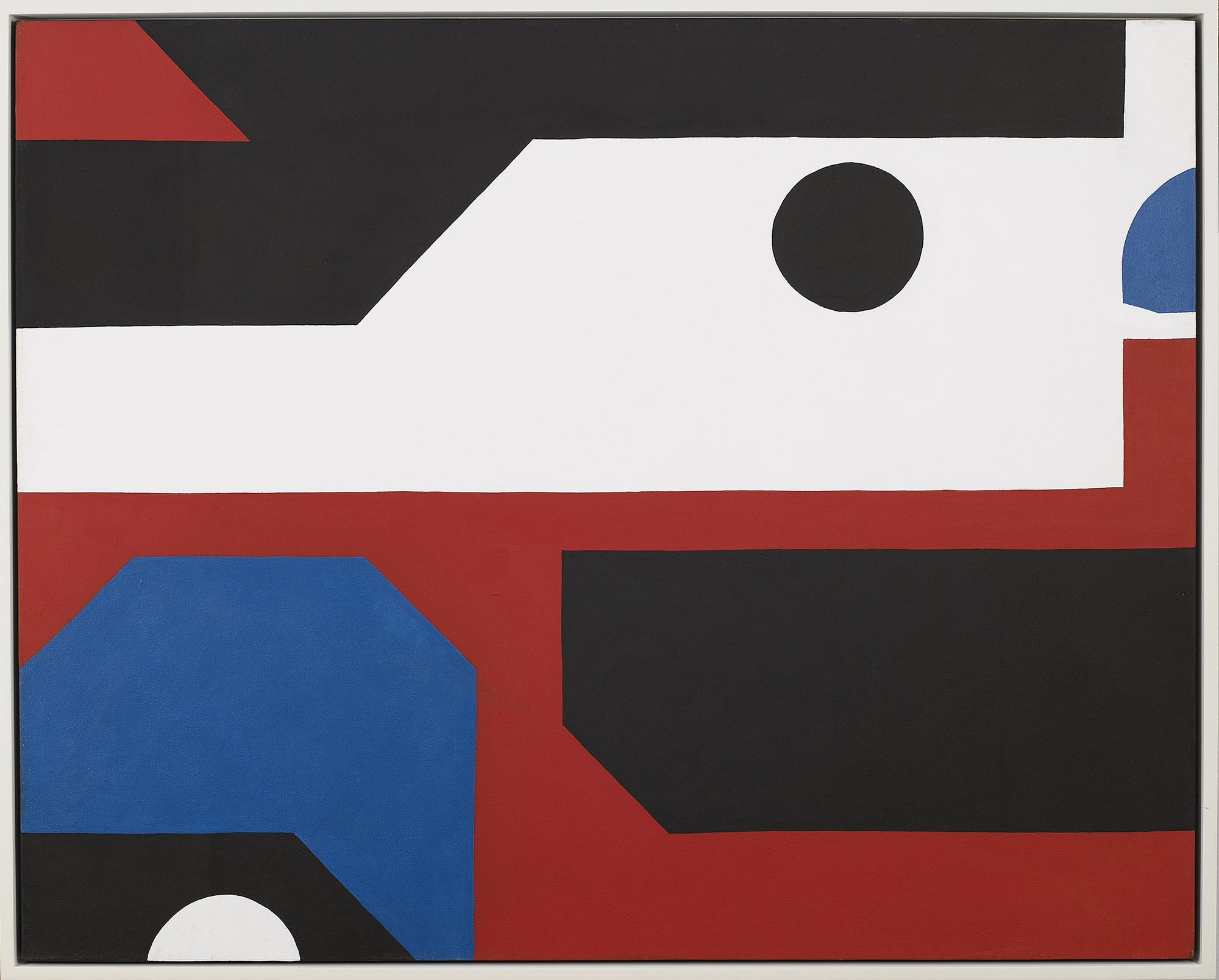 Alaska True Blue,   Acrylic on canvas, 1971, 40 x 50 inches