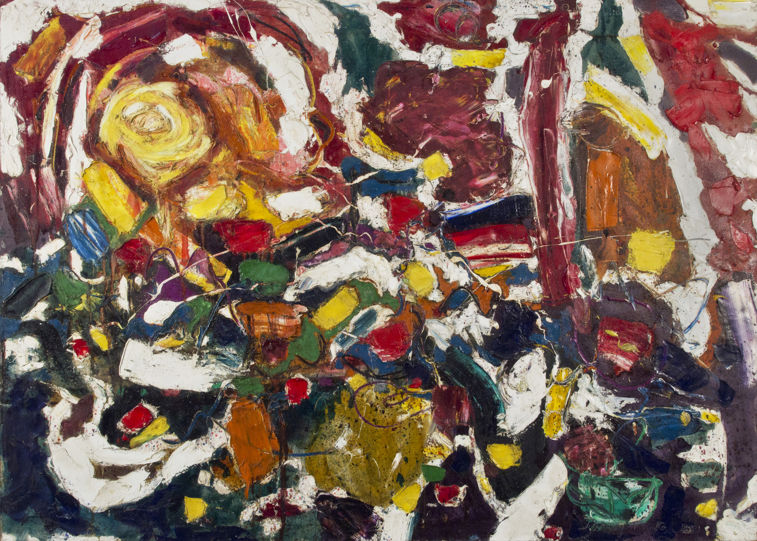 Untitled, 1957  , oil on canvas, 50 x 70 inches