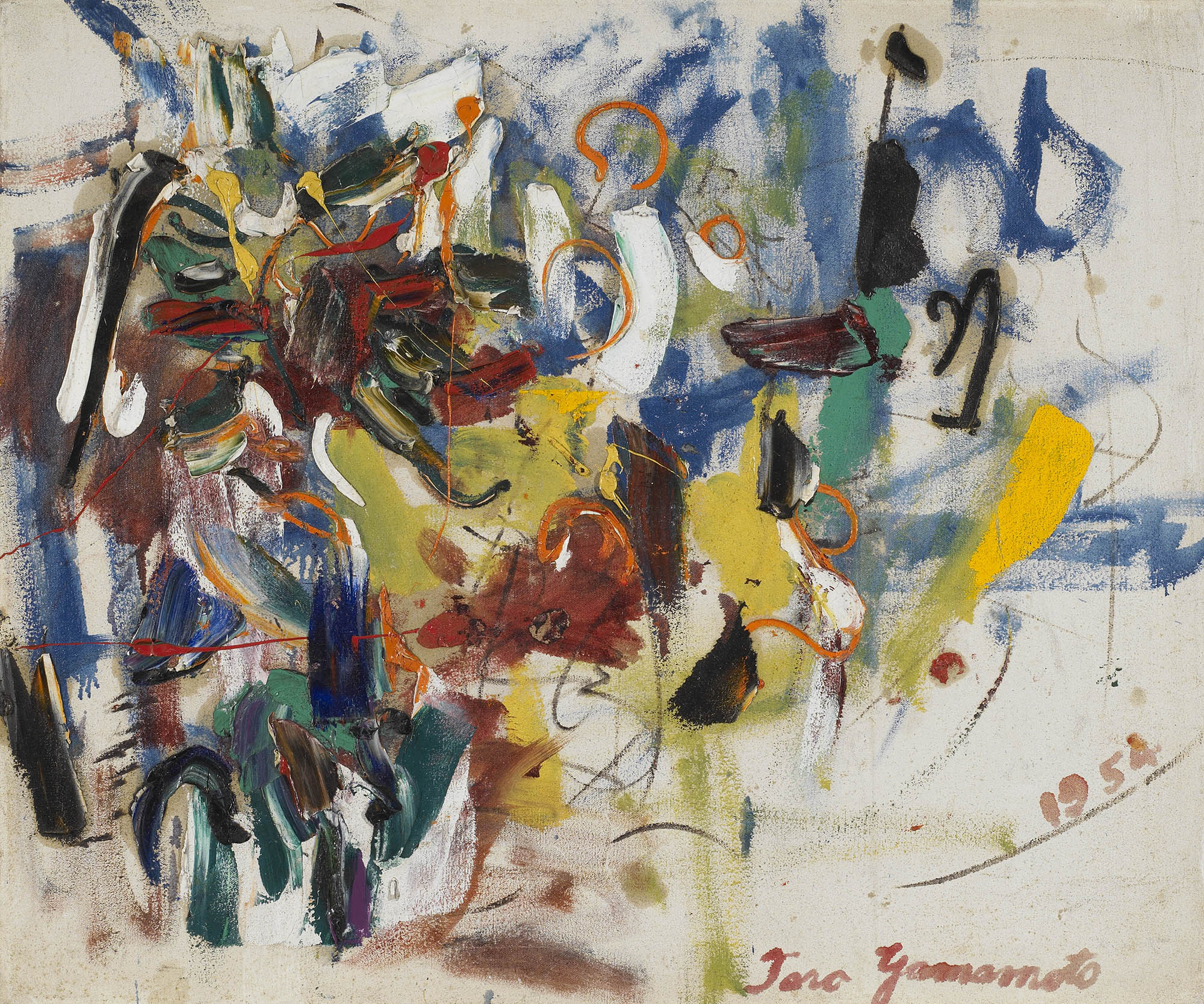 Untitled, 1954  , oil on canvas, 25 x 30 inches