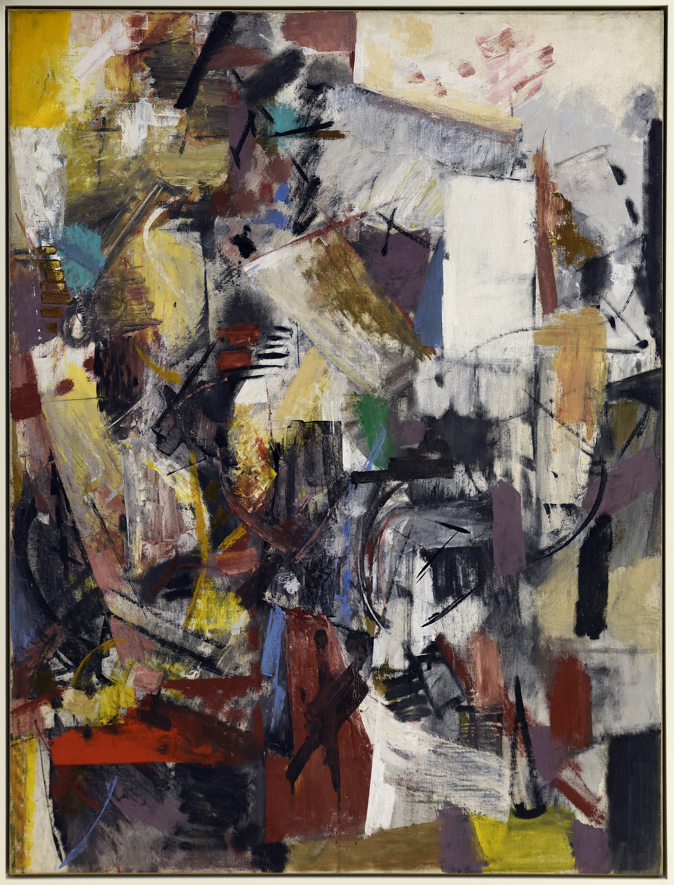Untitled,   Oil on canvas, c. 1950s, 47 x 36 inches