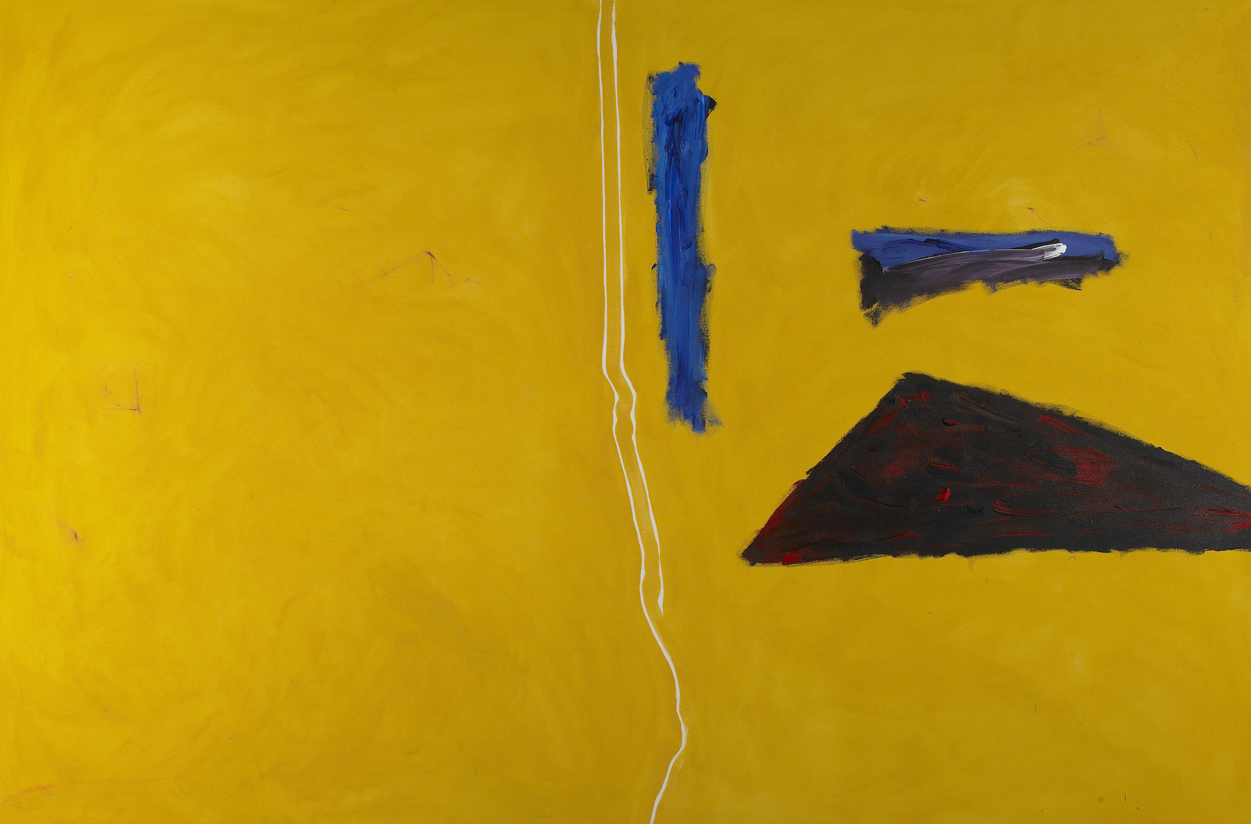 Algarve - 4  , Acrylic on canvas, 1982, 67 x 100 inches