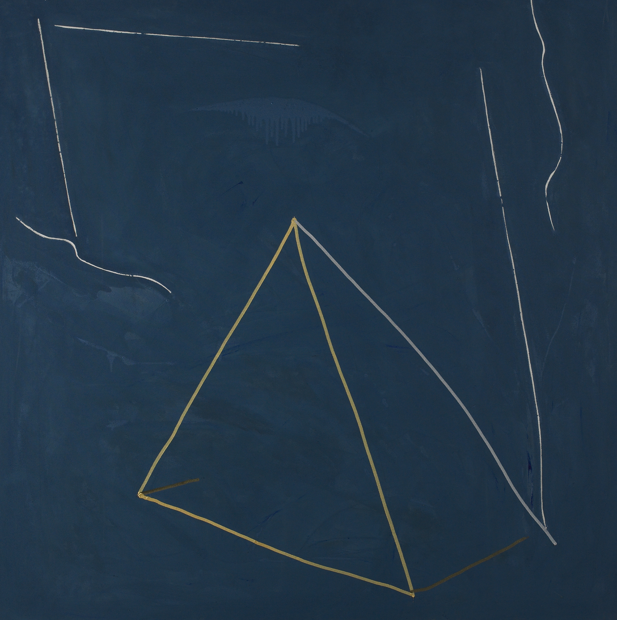 Mirabile Dictu - 8  , Acrylic on canvas, 1981, 66 x 66 inches