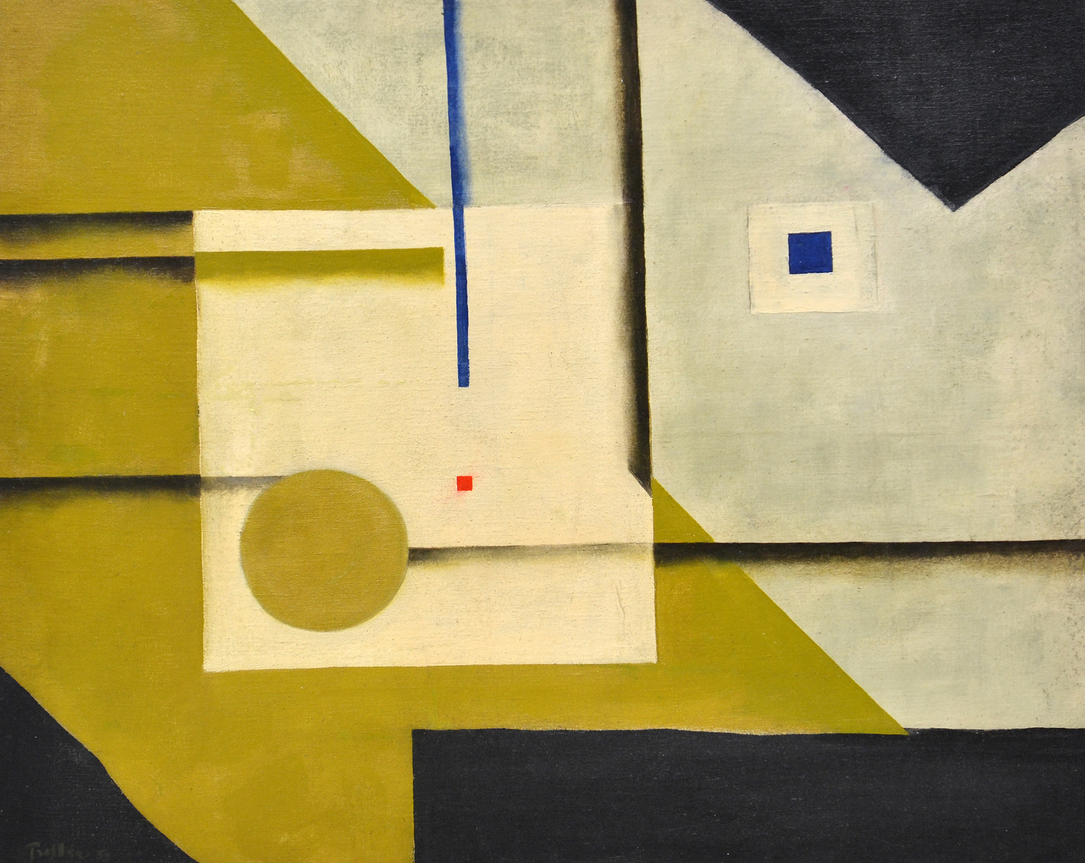 Untitled,   Oil on canvas, 1959, 20 x 25 inches