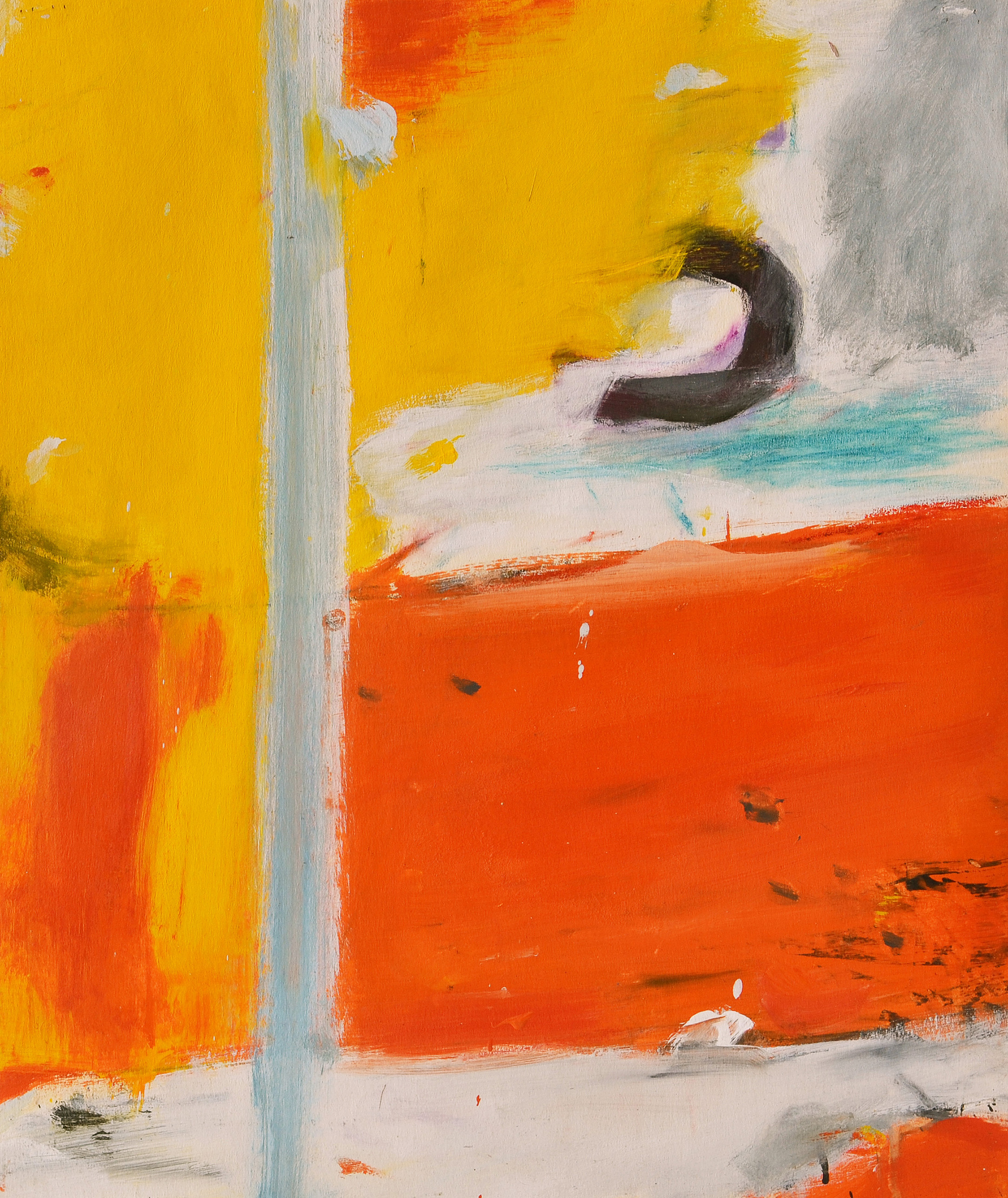 Untitled ,  Gouache on casein paper, c. 1959, 17 3/4 x 15 inches