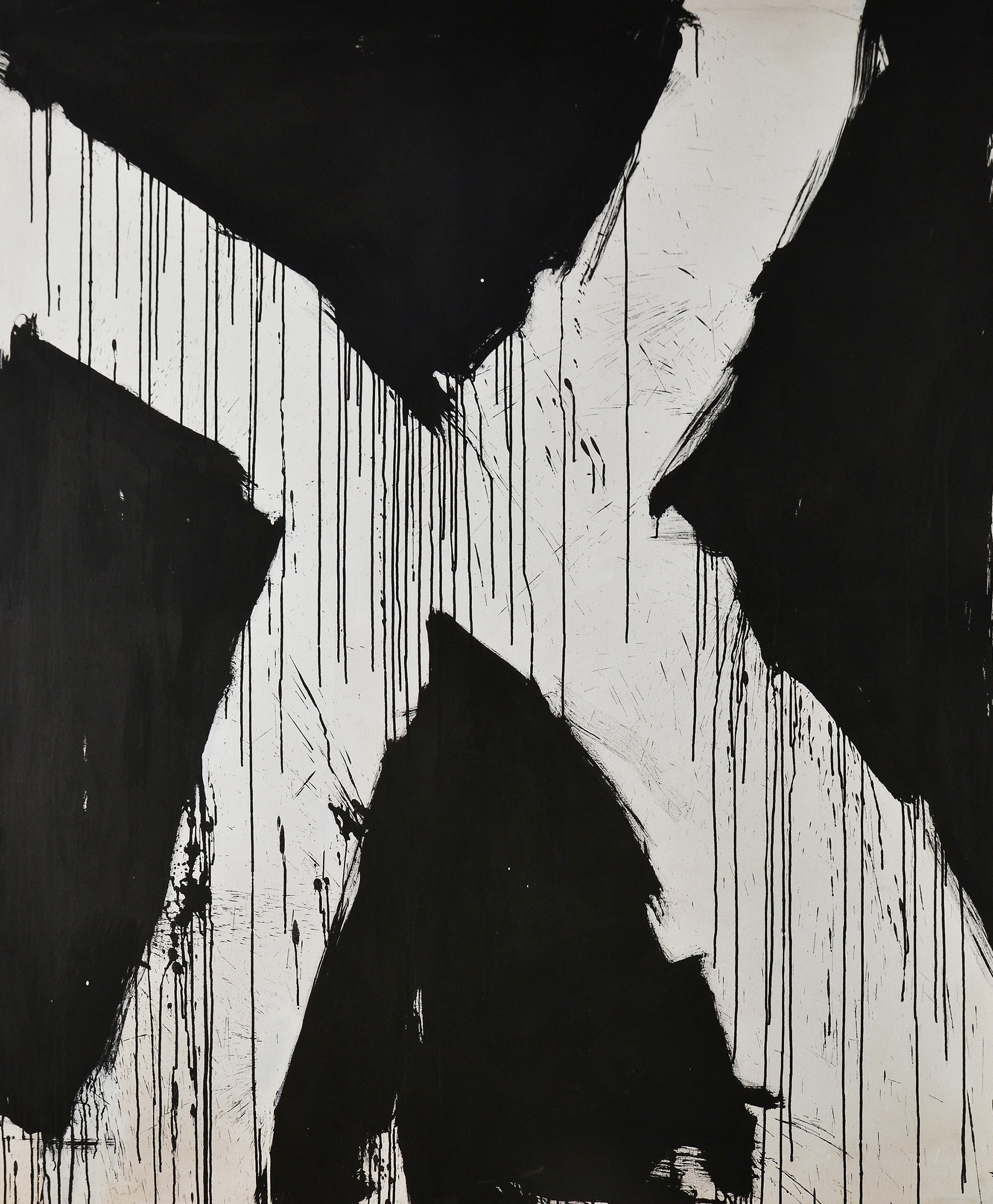 Untitled ,  Oil on canvas, 1961-63, 82 x 68 inches