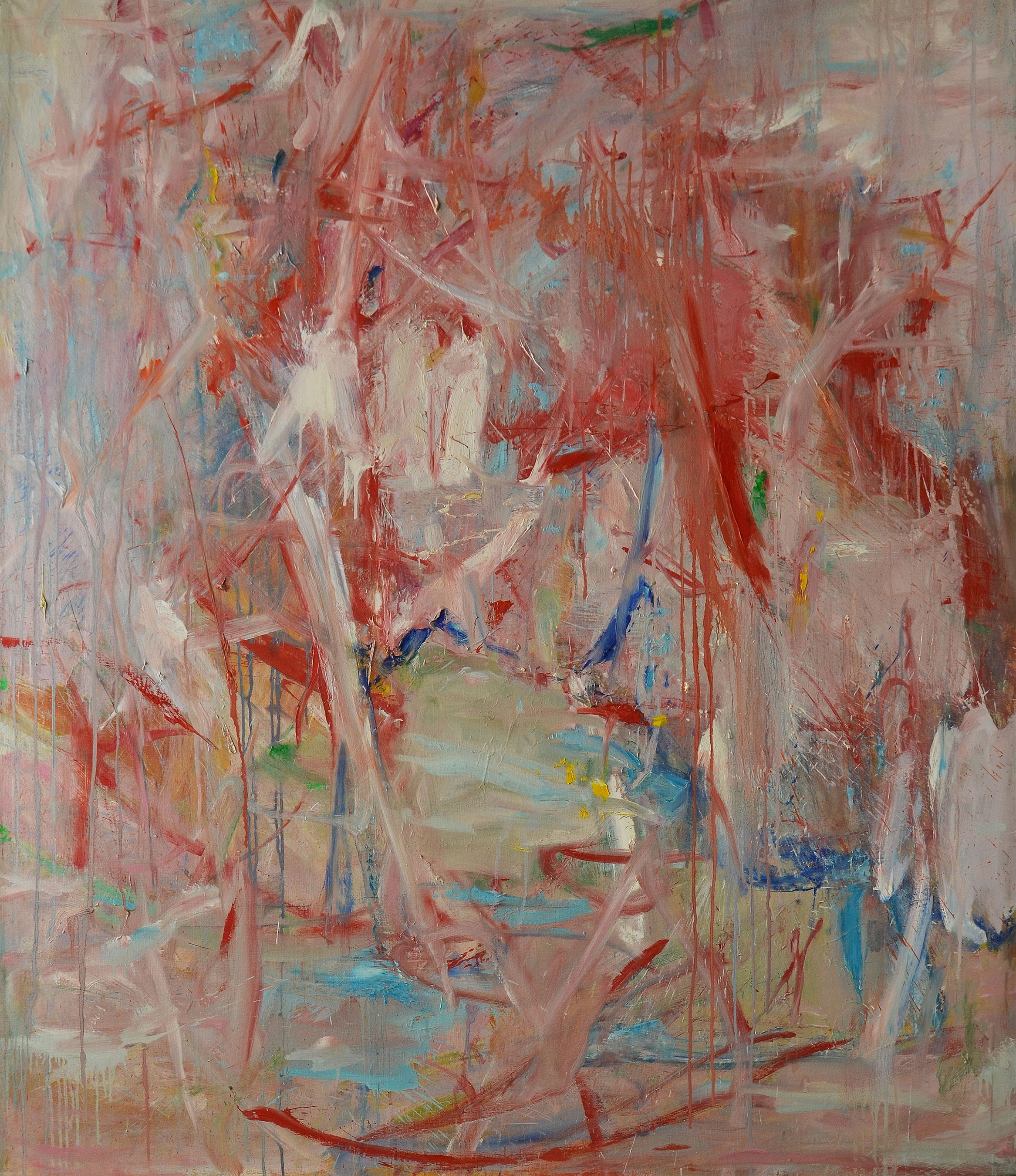 Untitled ,  Oil on canvas, c. 1959, 72 x 60 inches