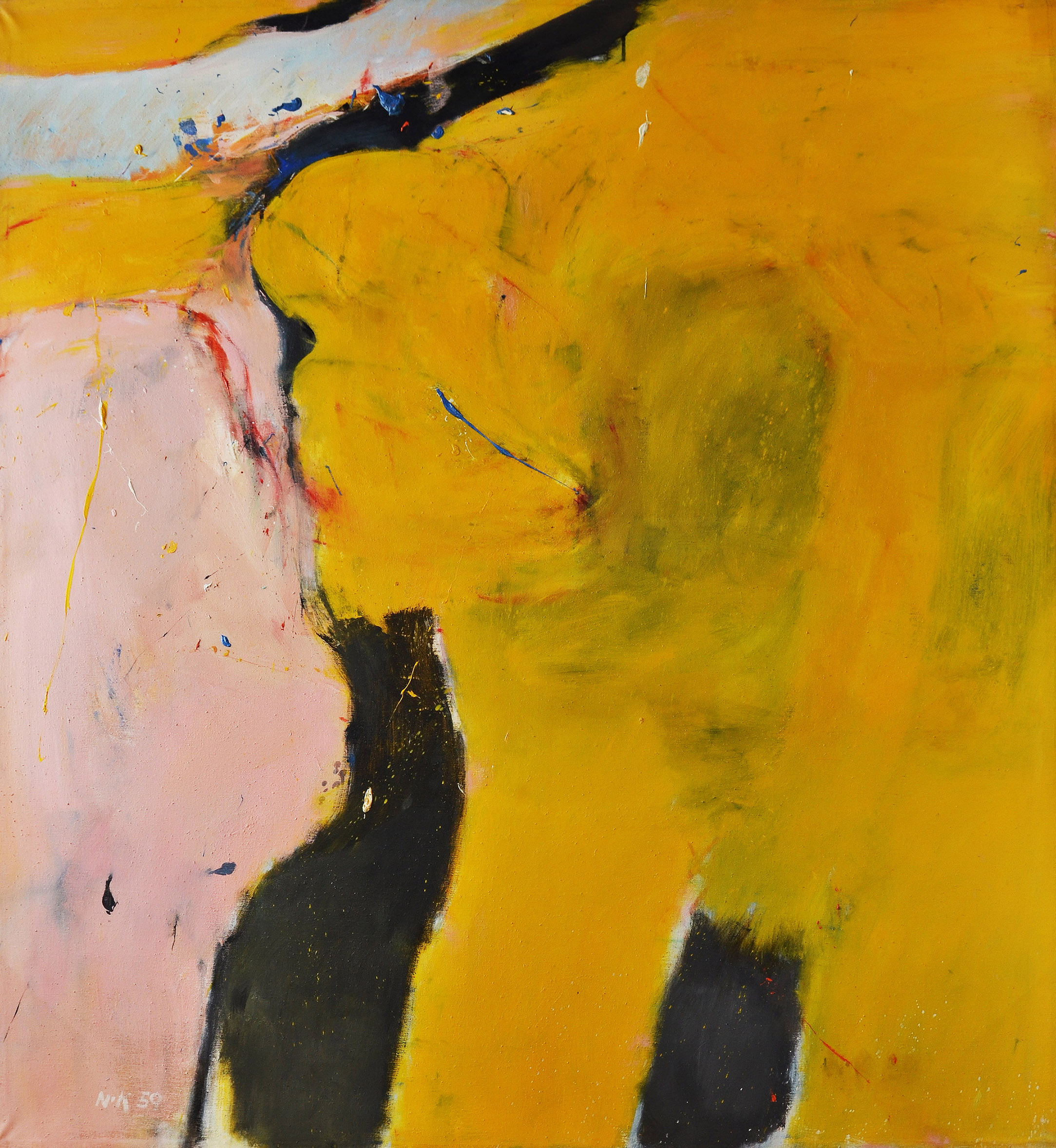 Untitled ,  Oil on canvas, 1959, 68 x 60 inches