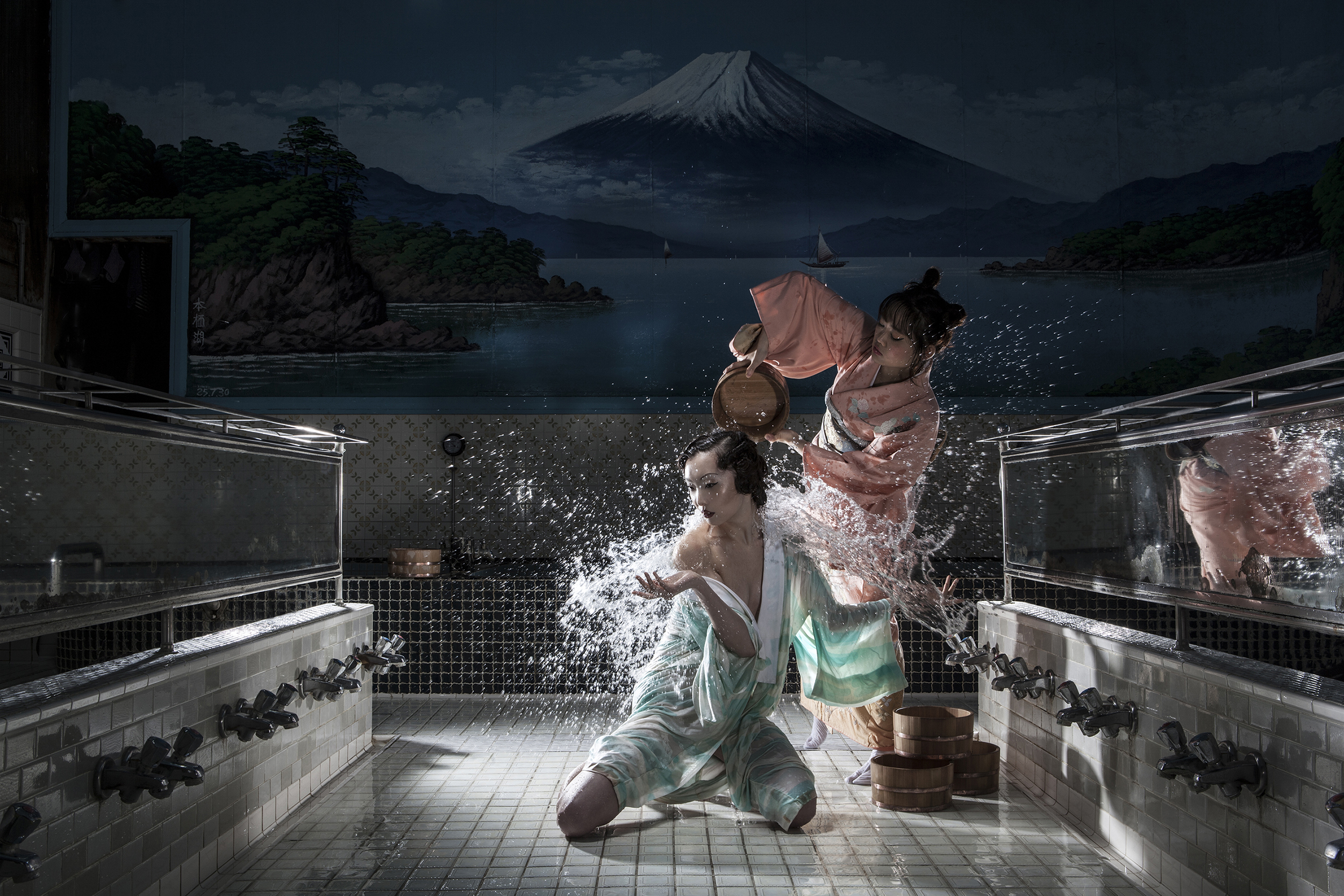 Maaya XIV, Nishi-Sugamp, Japan  , Archival pigment print, 2013, 40 x 60 inches