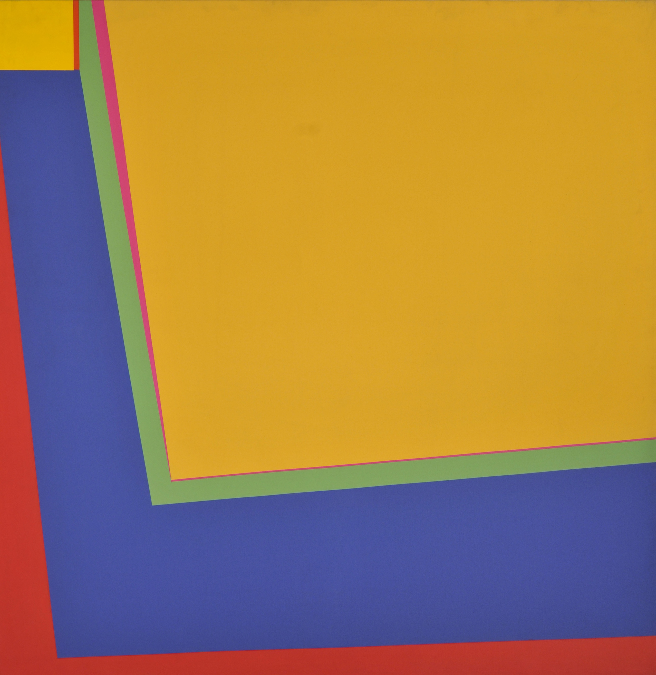 SOLD,  Untitled,   Oil on canvas, 1971, 60 x 60 inches