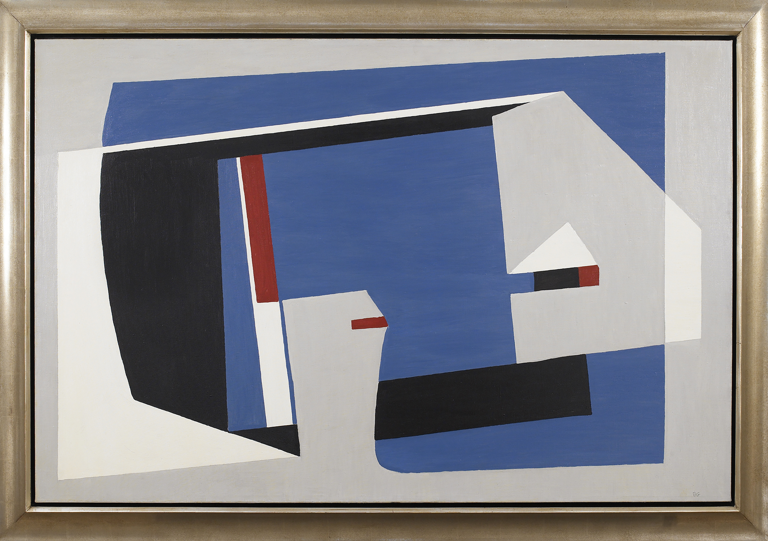 Balanced Moving,   Oil on canvas, 1938, 32 x 48 inches