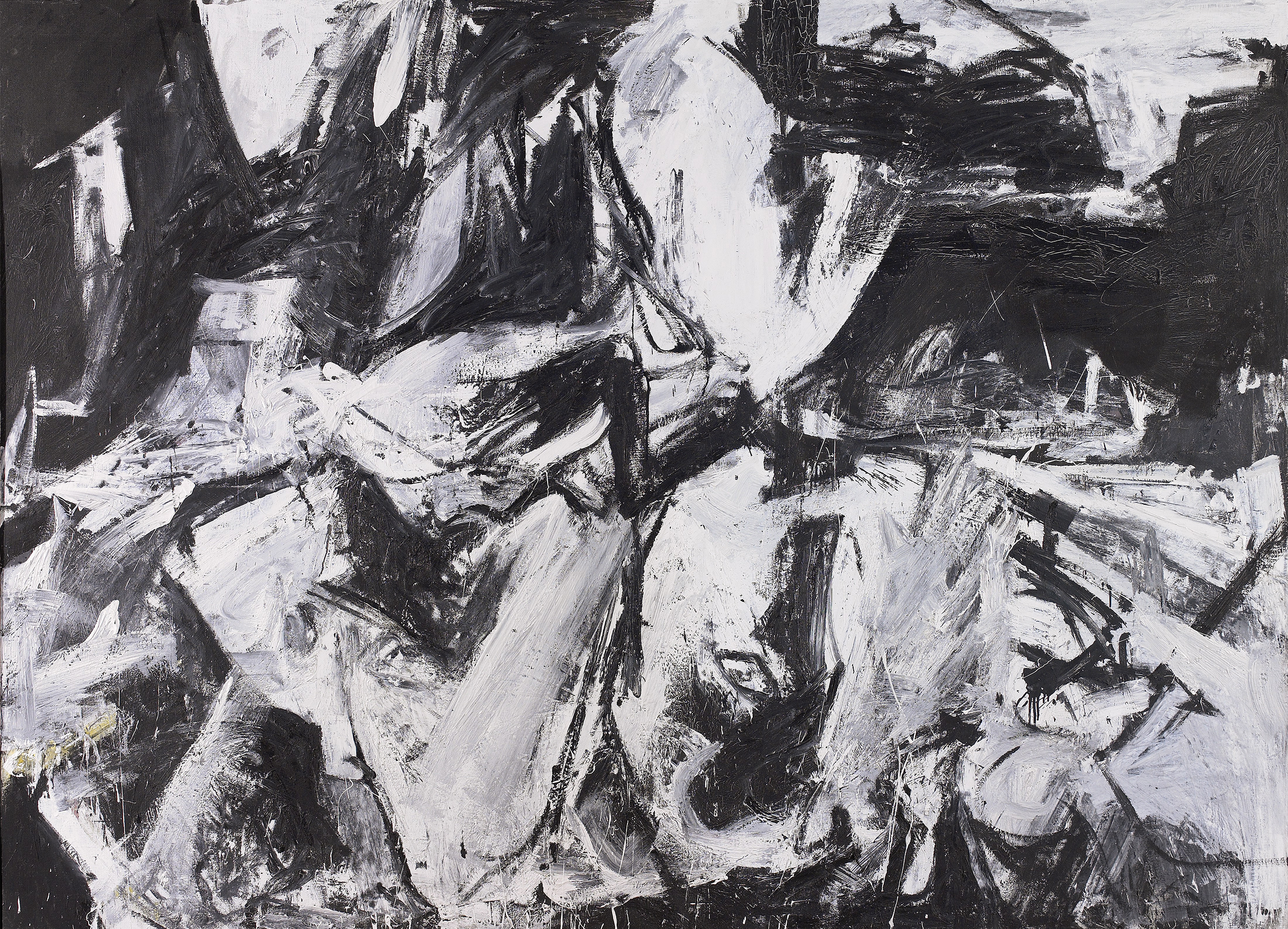 SOLD  Threshold ,  Oil on canvas, 1957, 73 3/8 x 100 ¾ inches