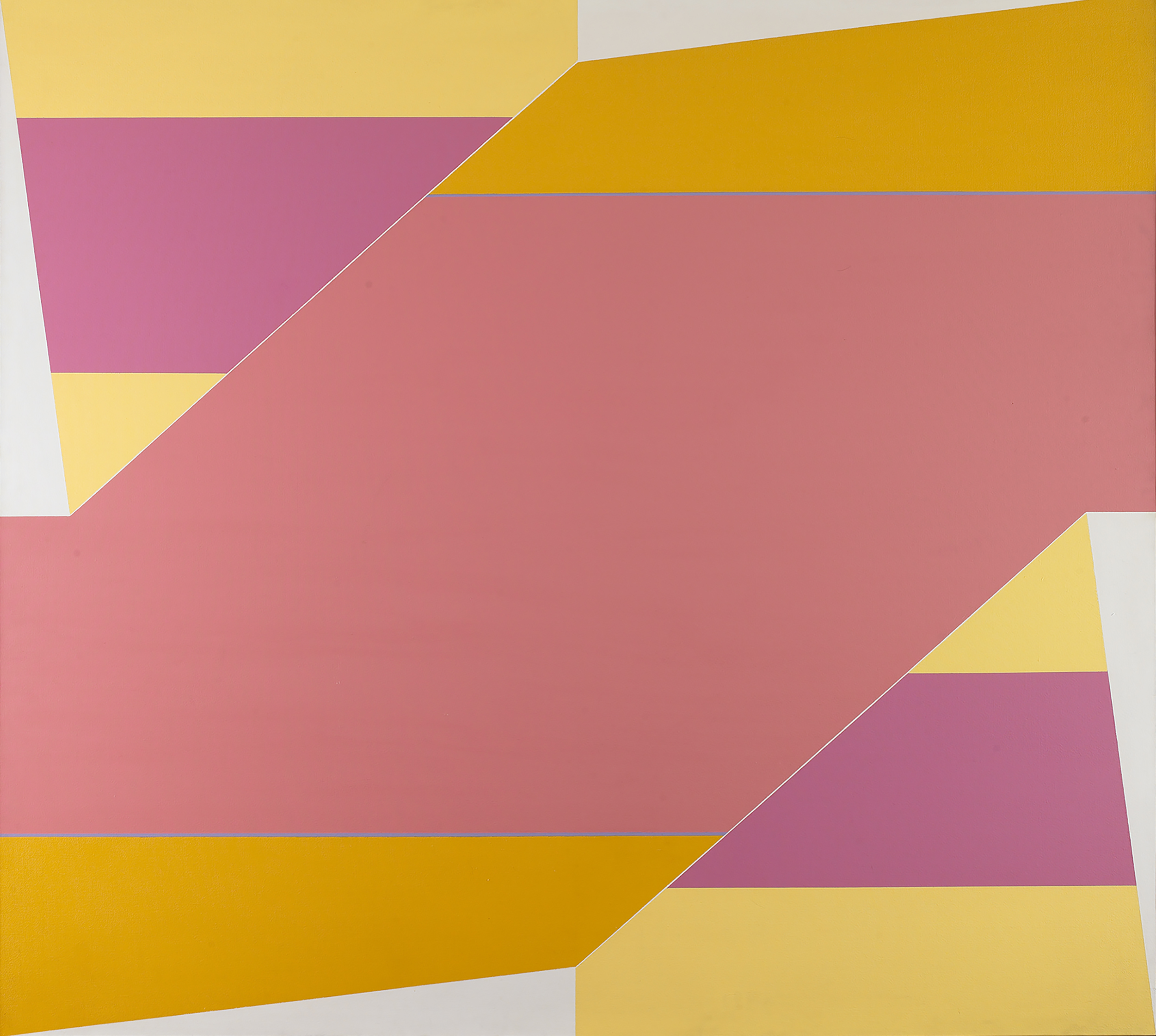 P.a.  , Acrylic on canvas, 1964, 66 x 72 inches
