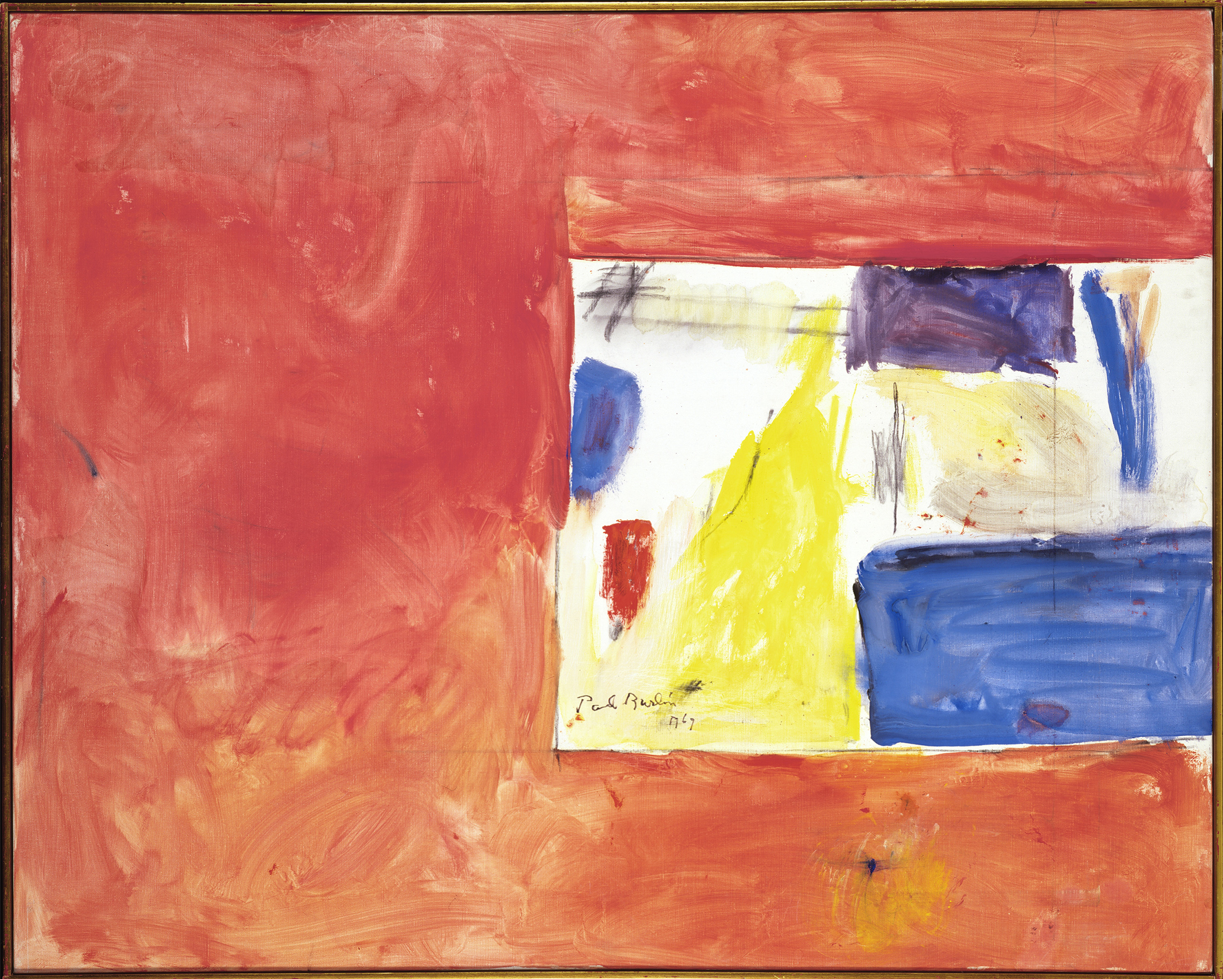 Last of Nine #3  , Oil on canvas, 1969, 45 x 56 inches