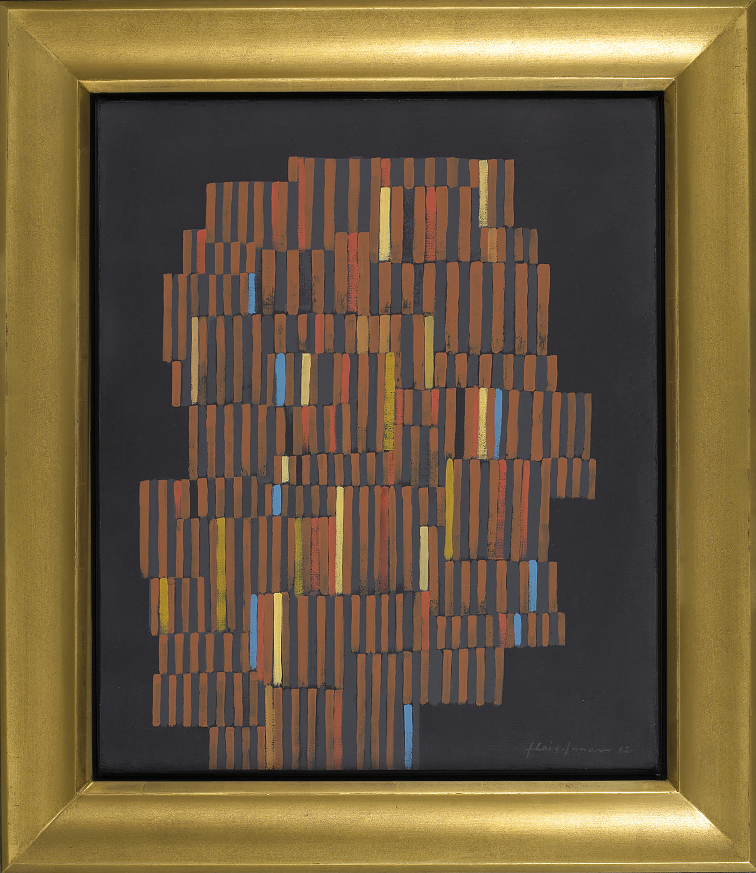 Untitled  , Oil on canvas, 1962, 24 x 20 inches