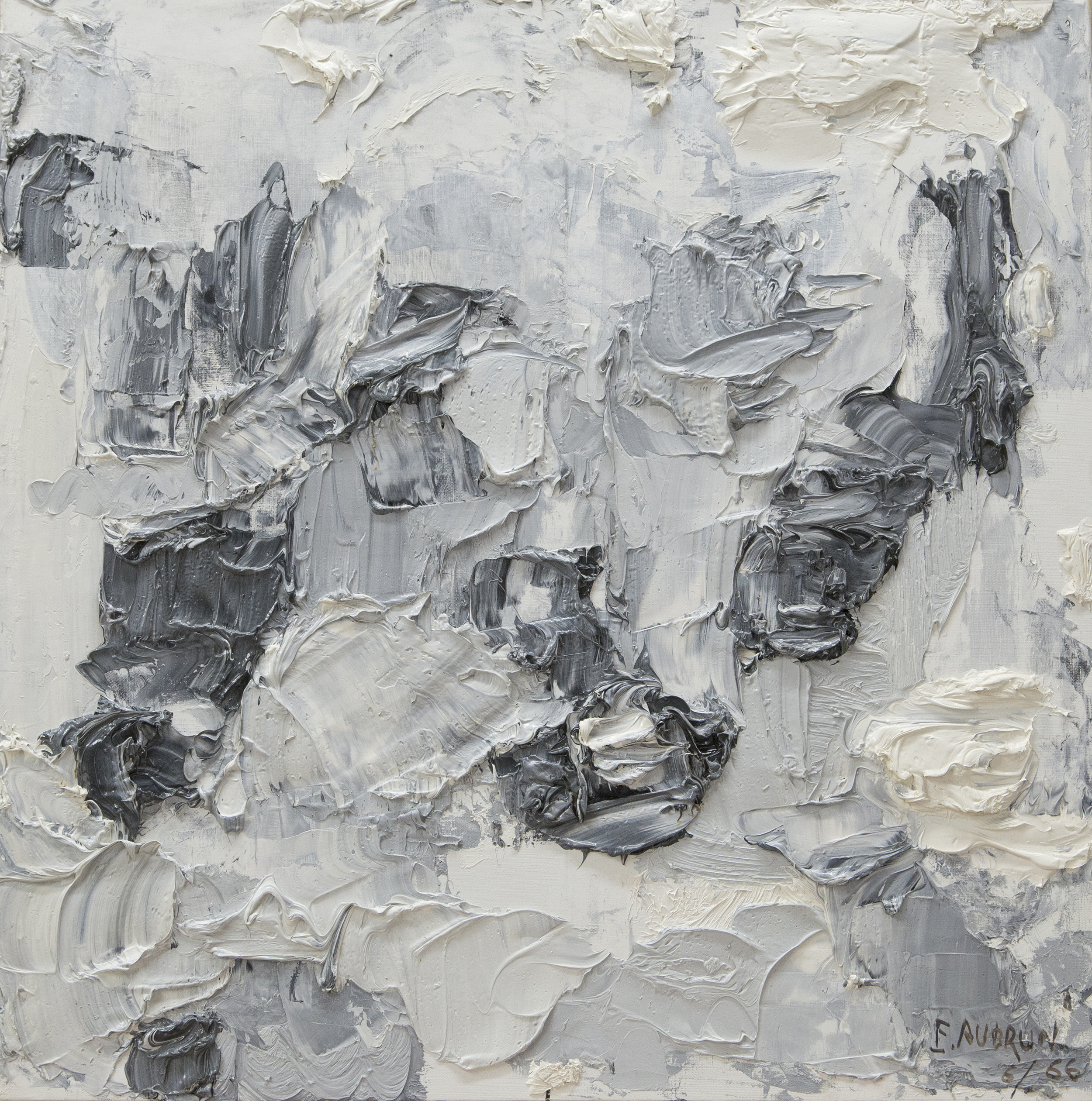 Untitled, 826  , Oil on canvas, 1966, 29 1/2 x 29 1/2 inches