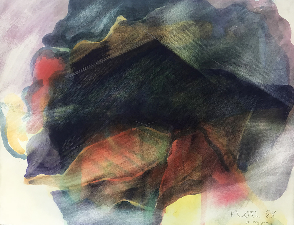 #1926 Untitled,   Watercolor on paper, 1983, 11 x 15 inches