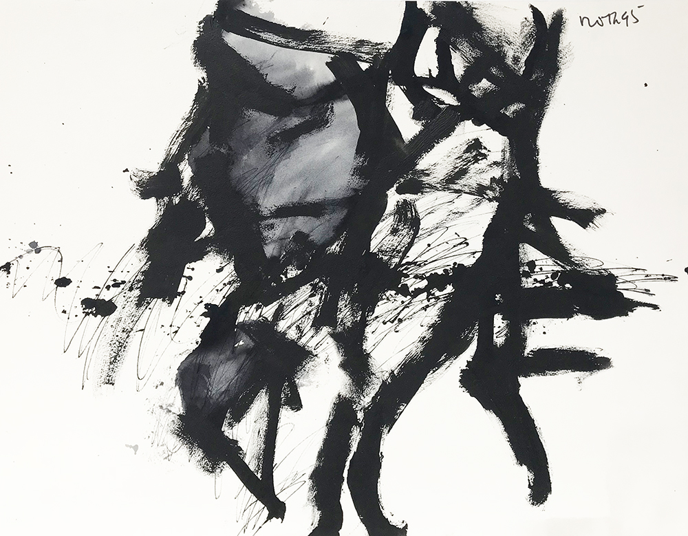 #2553 Untitled,   Acrylic on paper, 1982, 22 1/2 x 30 1/2 inches