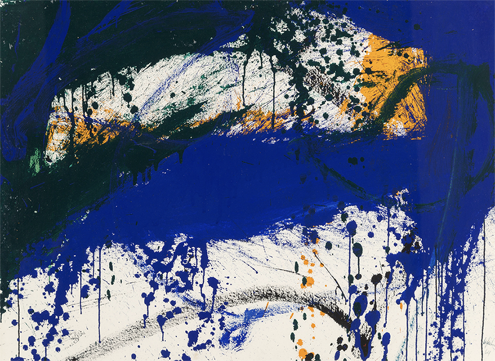 Sweet Sue,   Ink and acrylic on Arches paper, 1964, 22 3/8 x 30 3/8 inches