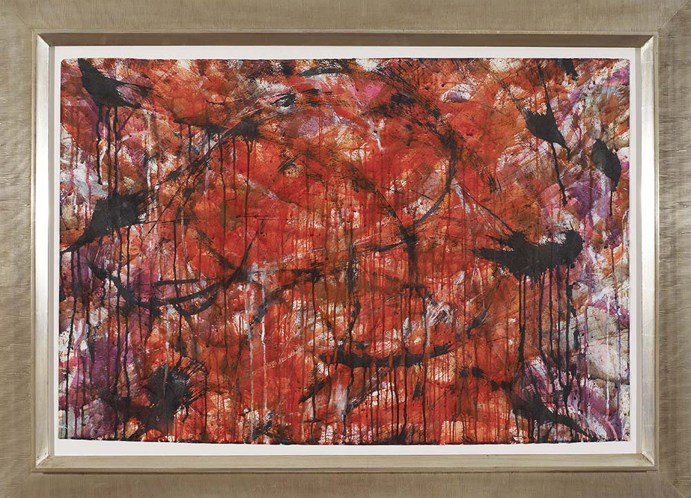 Untitled,   Watercolor on paper, 1957, 29 3/4 x 36 3/4 inches