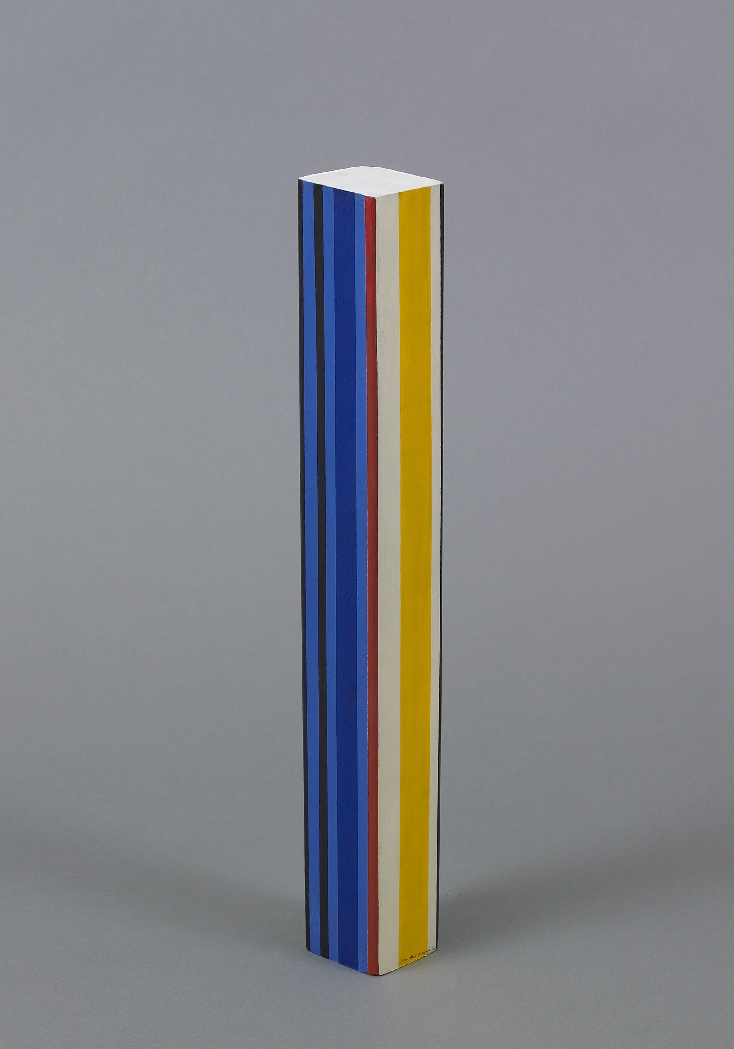 Untitled, c. 1965,   Acrylic on wood, 13 3/4 x 2 x 2 inches