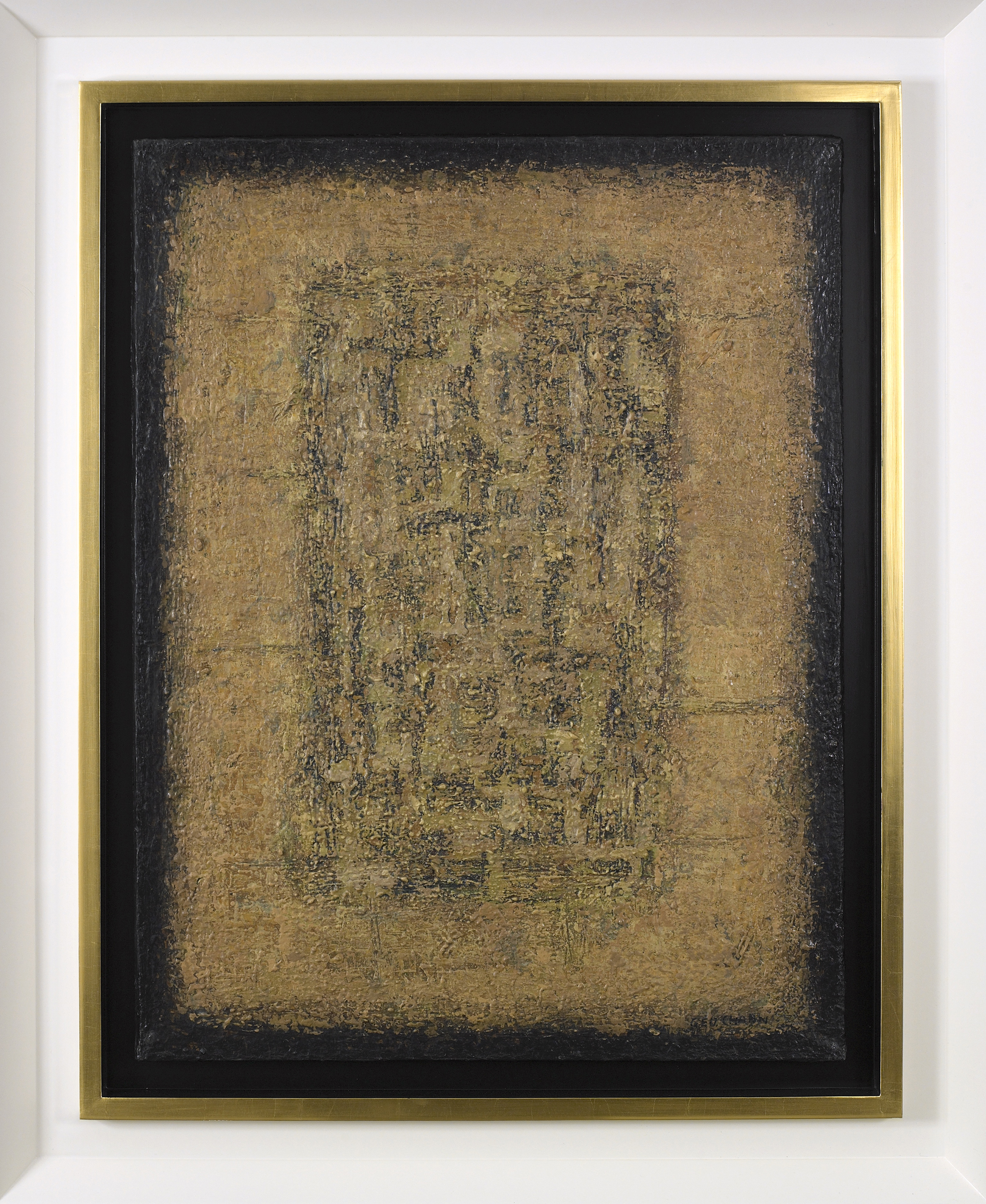 Mottled Pebble,   1968, Oil on canvas, 30 1/2 x 23 1/4 inches
