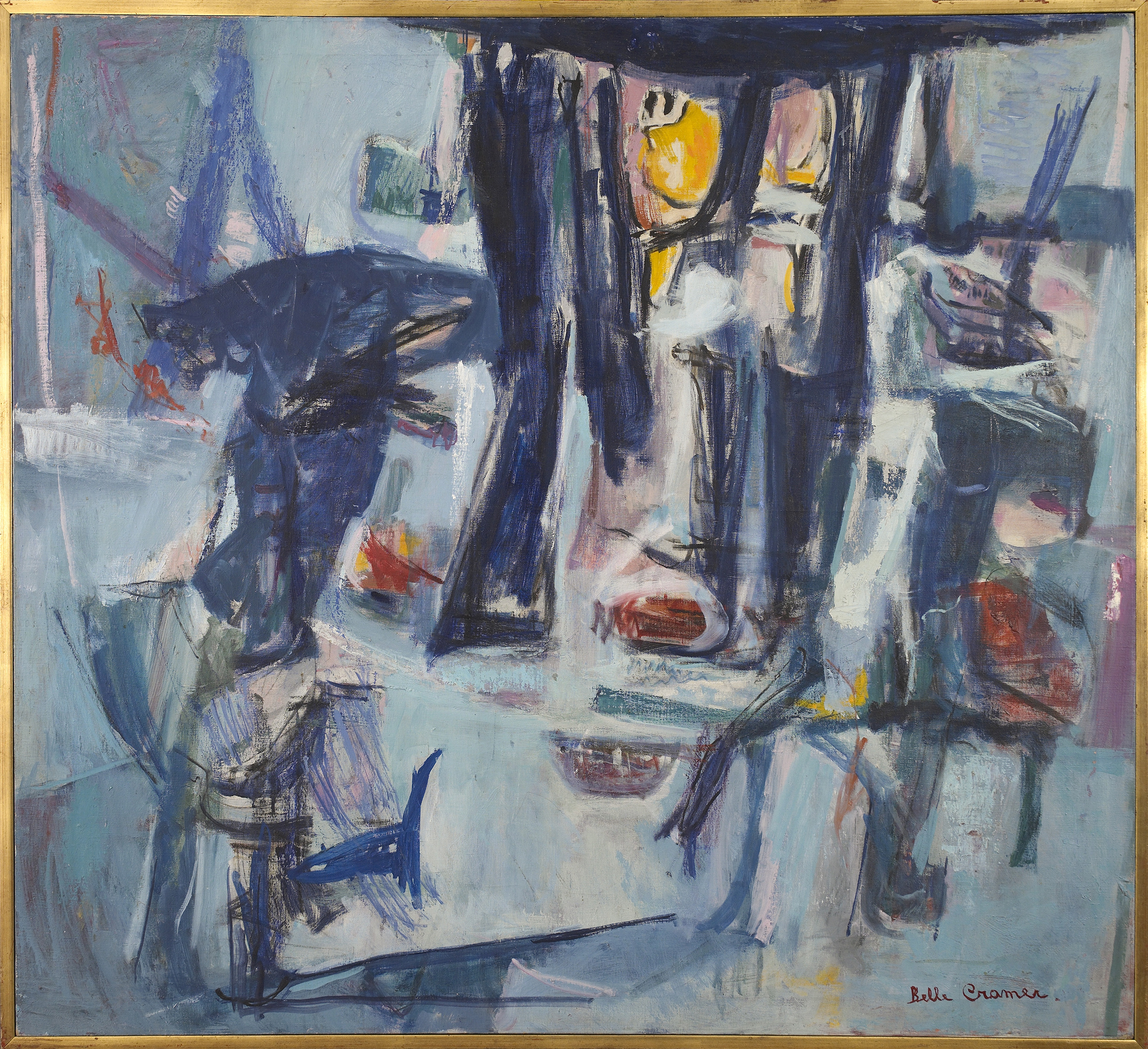 SOLD  Aspect of the Night,   1960, Oil on canvas, 42 x 46 inches