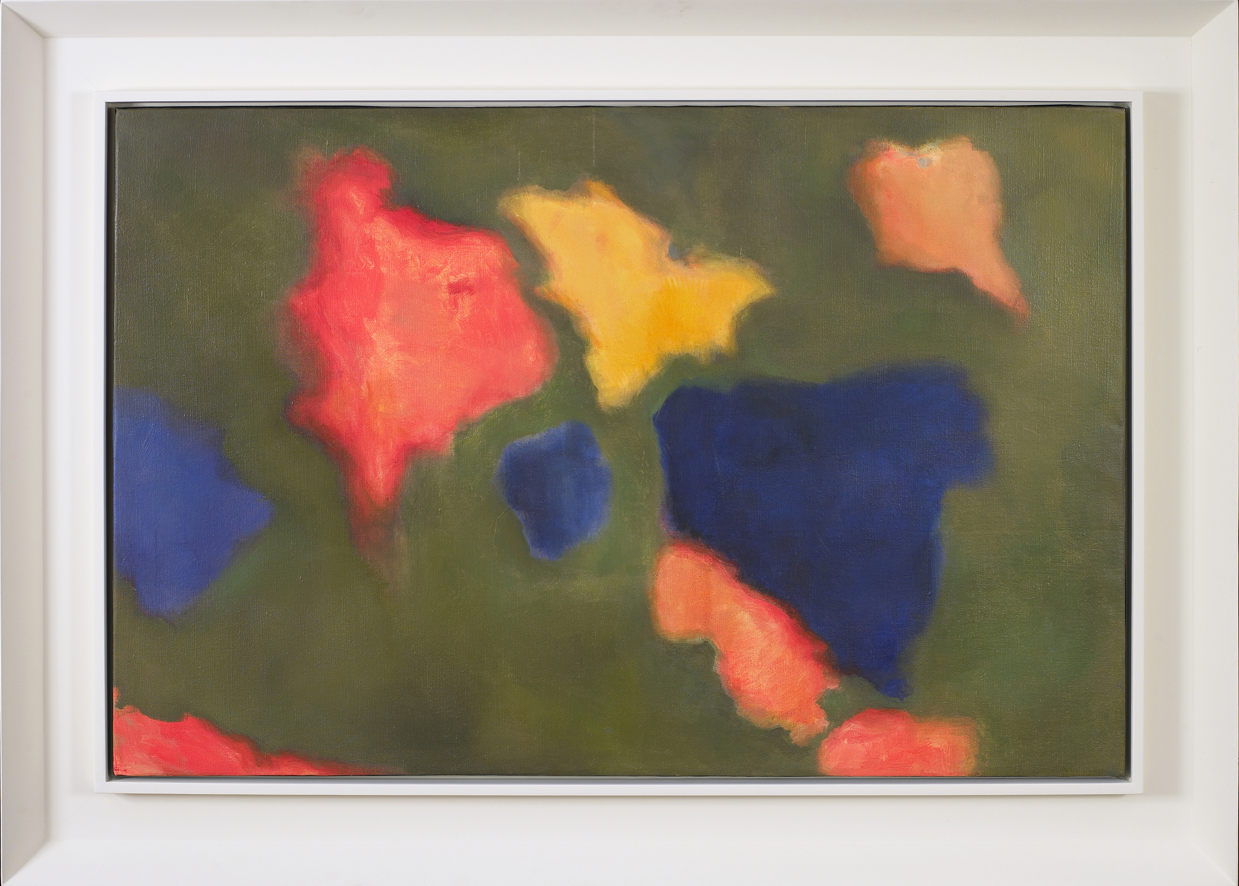 Floating World,   1974, Oil on canvas, 24 x 36 inches
