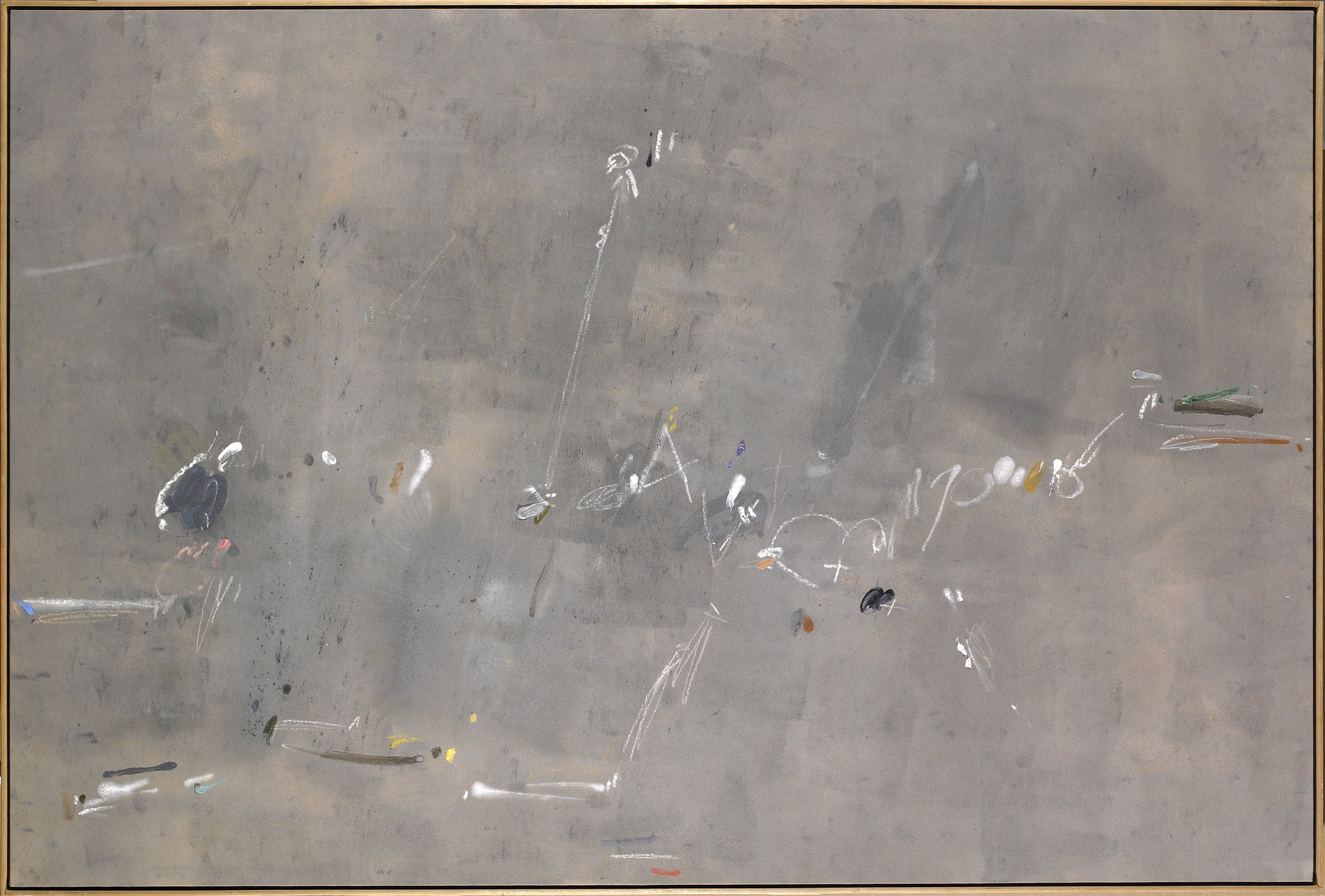 Turkish Twigs , Oil on canvas, 1986, 55 1/2 x 85 1/2 inches