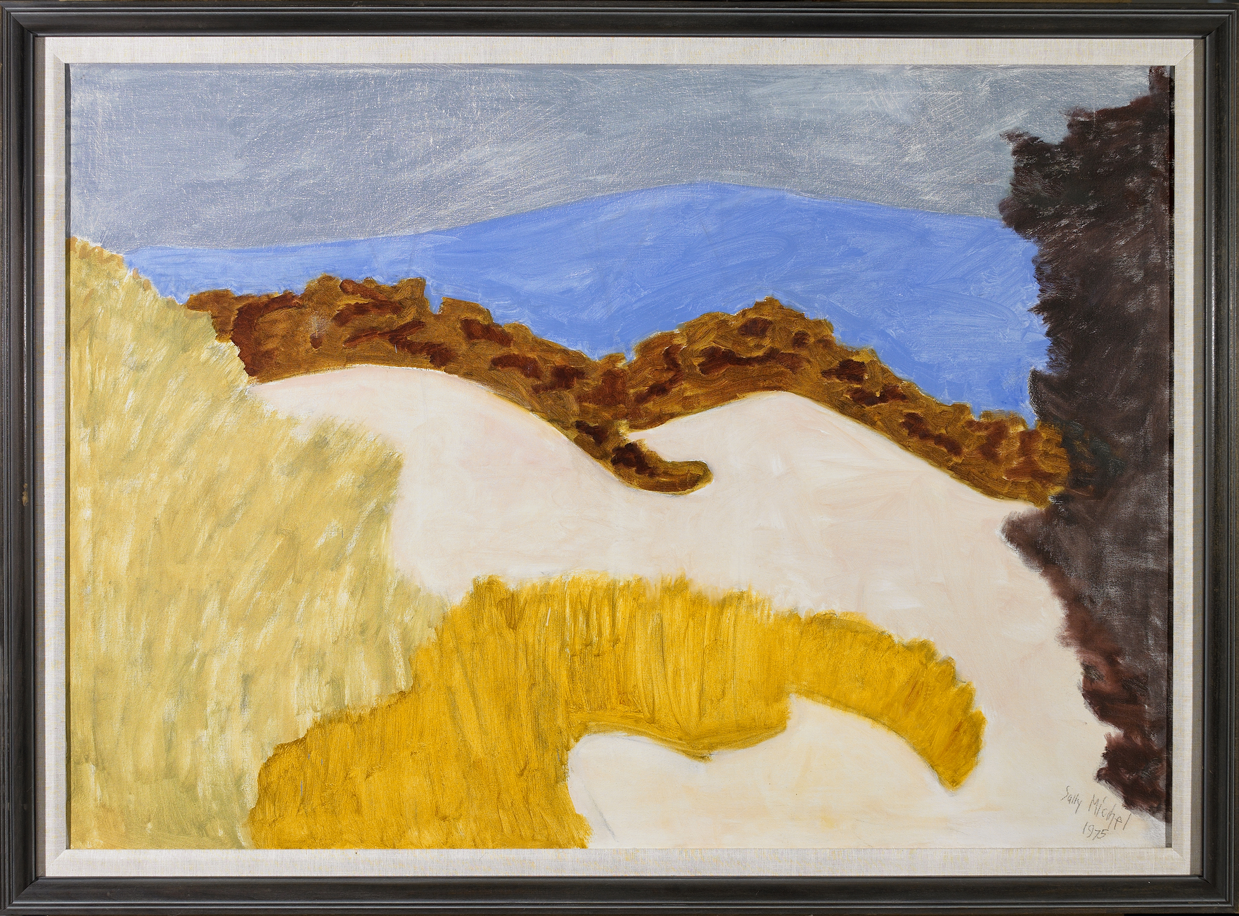 Autumn Hills,   Oil on canvas, 1975, 36 x 50 inches