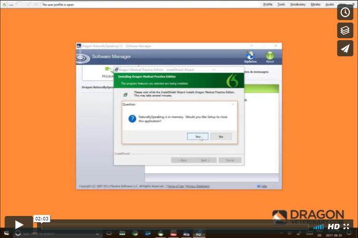 TUTORIAL #3: UPDATING DRAGON   Updating Dragon Veterinary is an important part of ensuring that the program is and will continue to run smoothly. This video shows you how to check for and run those updates.