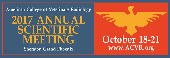 The American College of Veterinary Radiology's (ACVR) Annual Scientific Conference will be held in Phoenix this year.  Running from Oct. 18-21 at the Sheraton Grand Phoenix, the conference will bring together specialists in veterinary radiology – both diagnostic imaging and radiation oncology – to discuss, present and learn the newest research in their field.  While a very specialized field, the ACVR has 600 active diplomates, 280 society only members and 120 resident members-in-training. Then there's the specialized societies sponsored by the ACVR – combined the Veterinary Ultrasound Society (VUS), Society of Veterinary Nuclear Medicine (SVNM), CT/MRI Society and the Large Animal Diagnostic Imaging Society (LADIS) have 1,400 members.  So it will be a busy few days in Phoniex. And it'll be warm!  The average October temperature in Phoenix is from 86 to 92 degrees Fahrenheit this time of year.  But what could be hotter than veterinary radiology?  Answer: NOTHING!