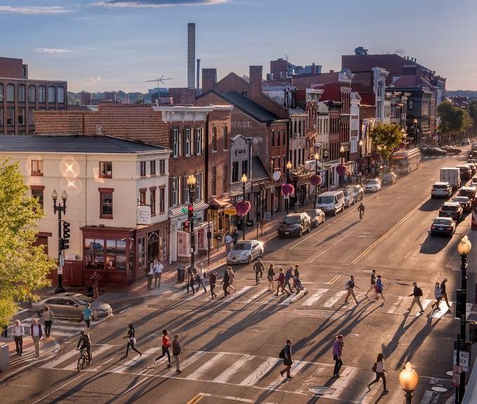 Street in Georgetown,  www.georgetowndc.com
