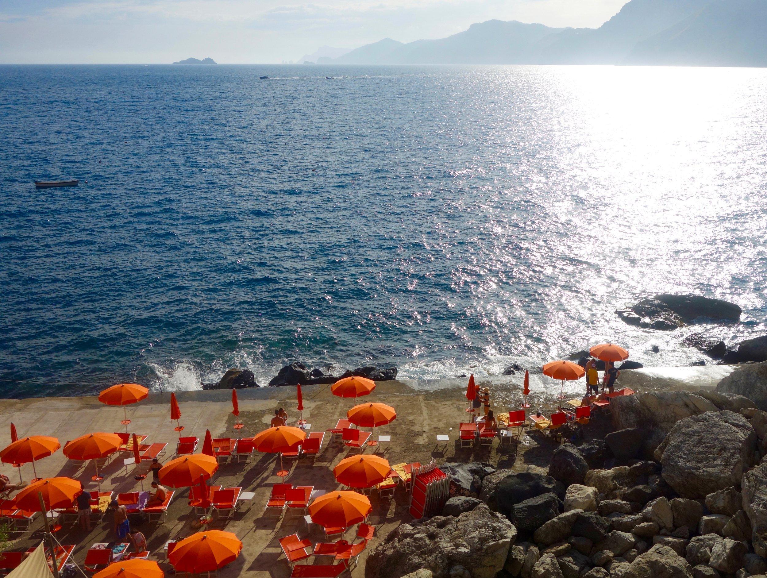 One Fire Beach Club, Praiano, Amalfi Coast