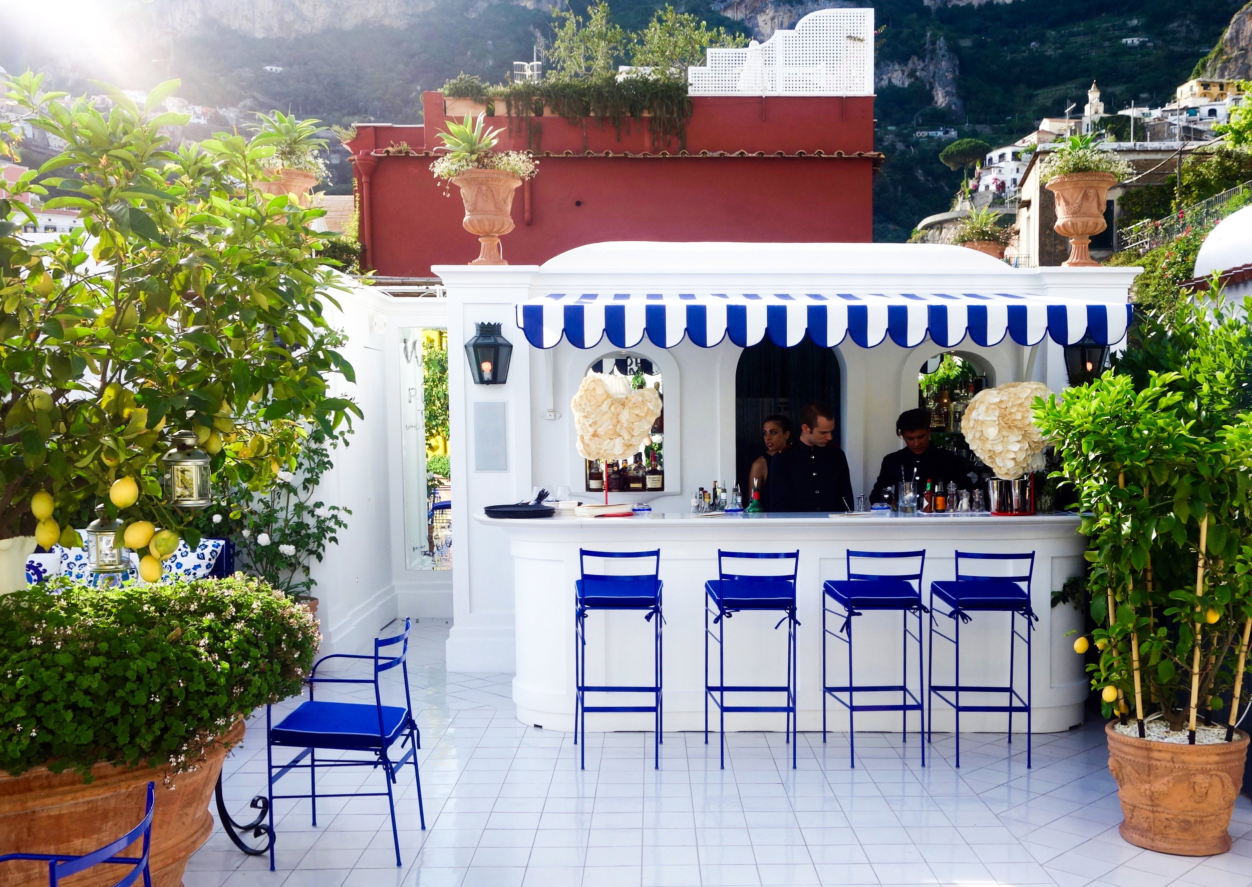 Franco's Bar, Positano, Amalfi Coast