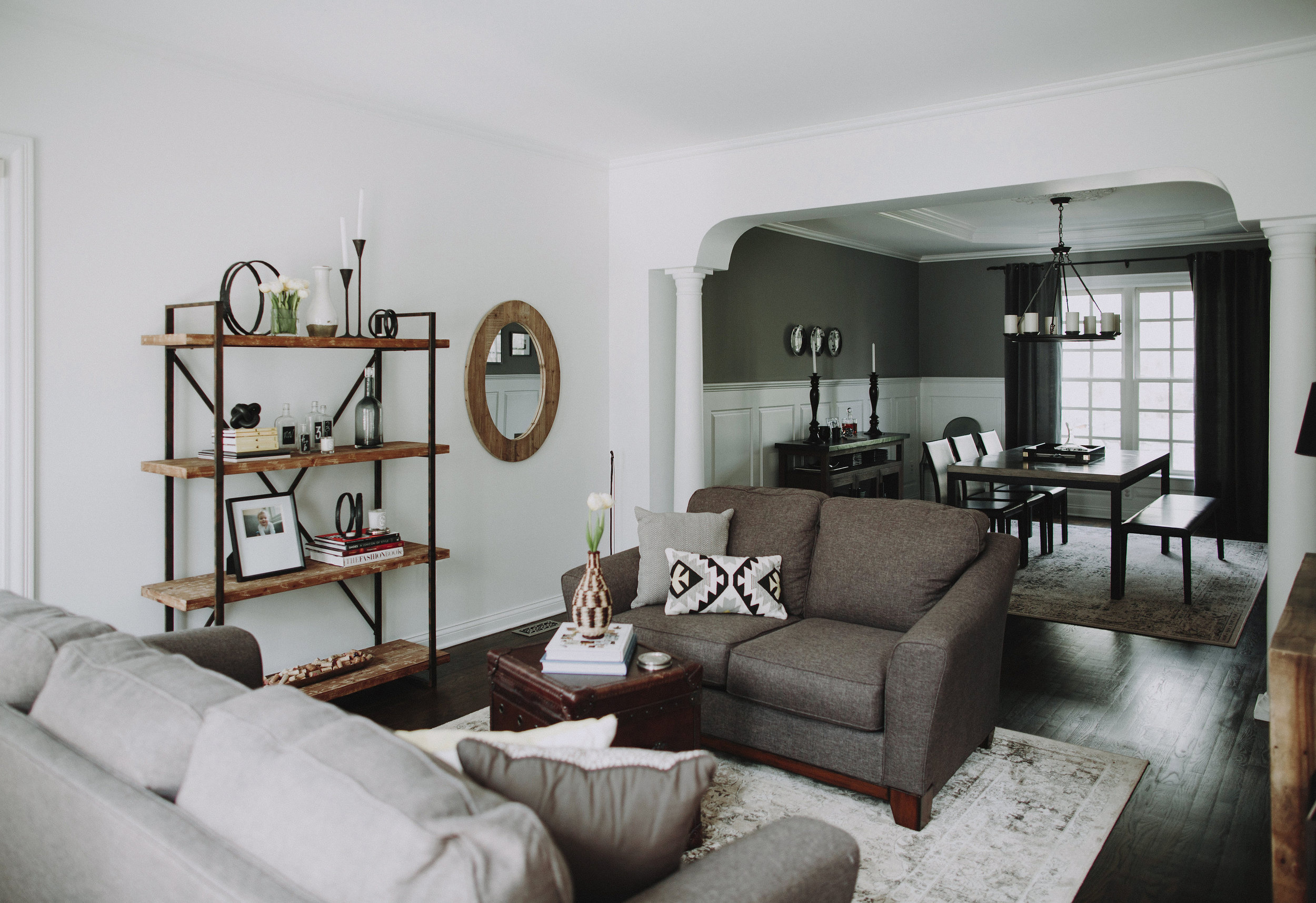 SPACES BY STEINITZ Family Neutral Living Room