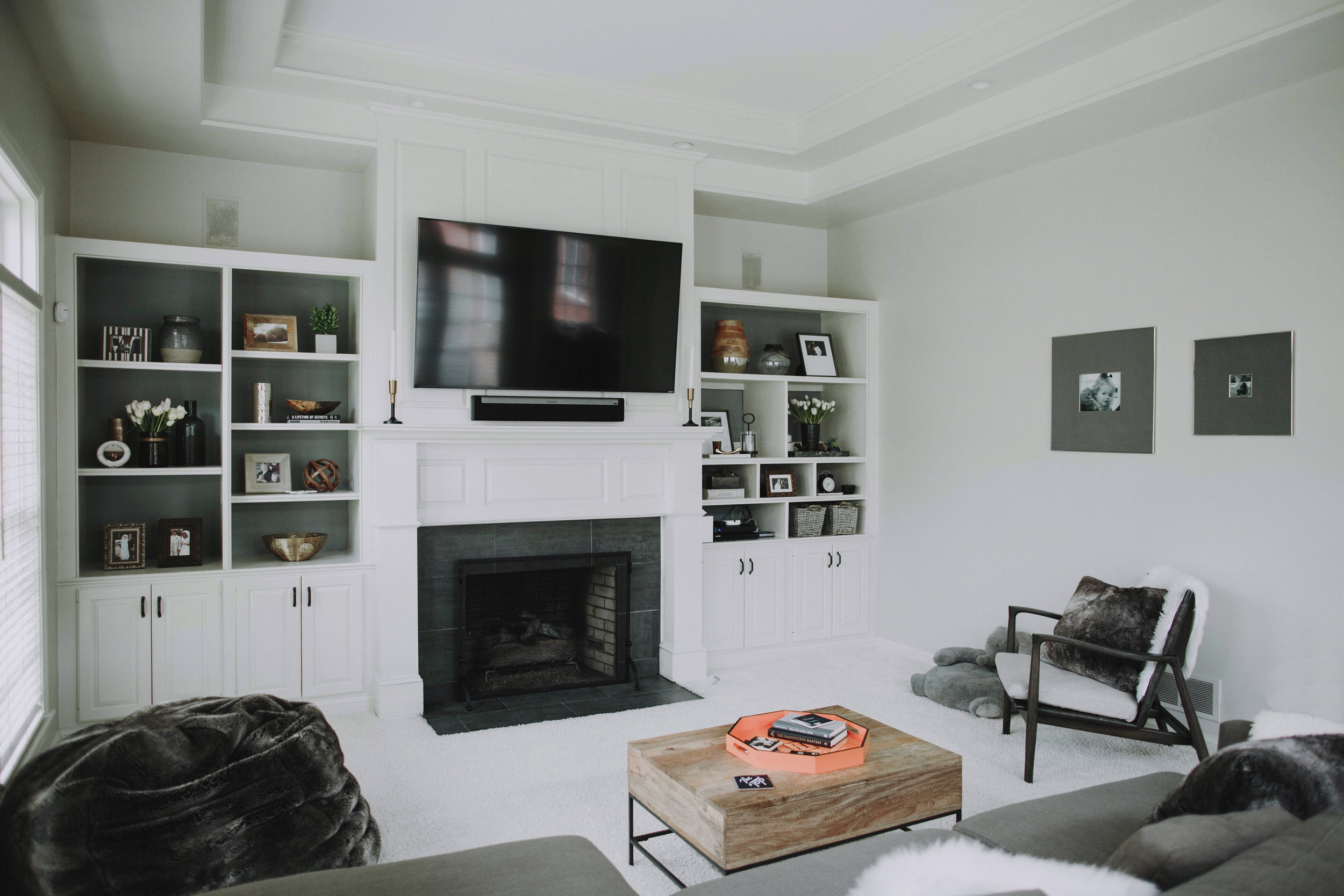 SPACES BY STEINITZ Neutral Family Home Living Room 2