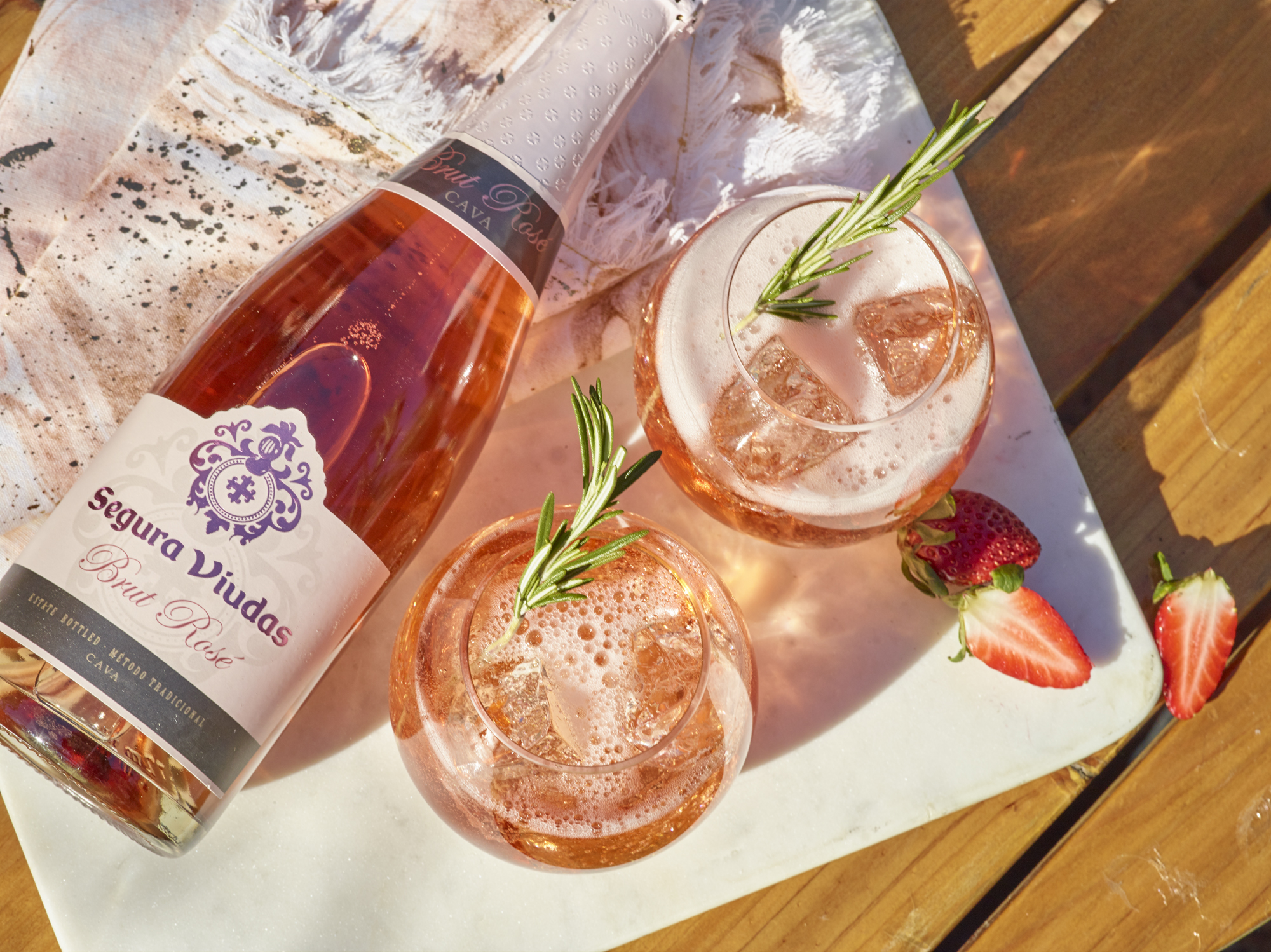 """Segura Viudas Cava - Heather Mulligan,                            Brand Manager Segura Viudas Cava """"We worked with Sid for our Segura Viudas shoot. He was so amazing, he really grinded it out for three days with us. His energy was superb and we got really great end results"""""""