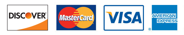 For your convenience, we do accept major credit cards, checks, and cash.
