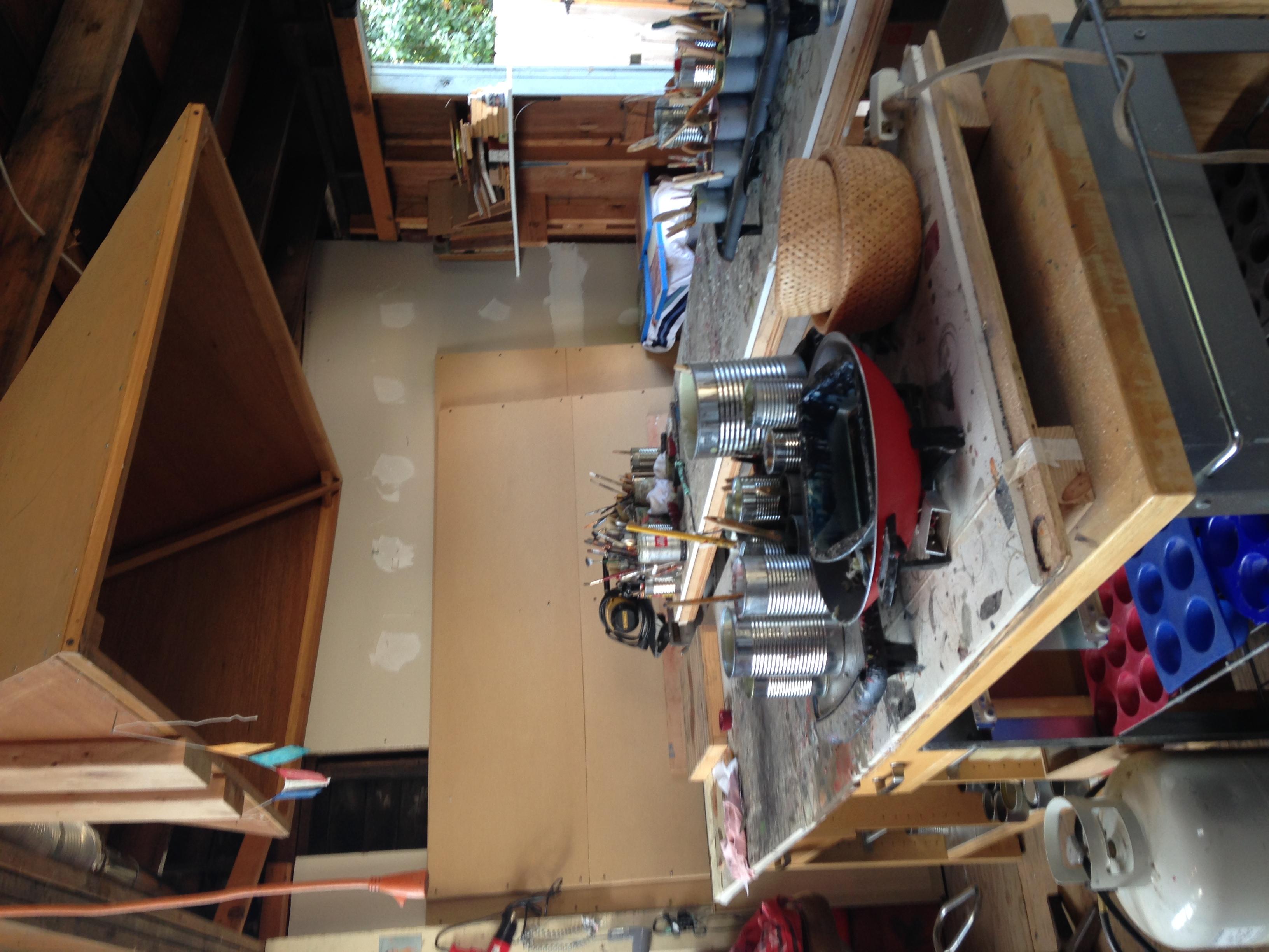 Stephanie Hargrave's studio