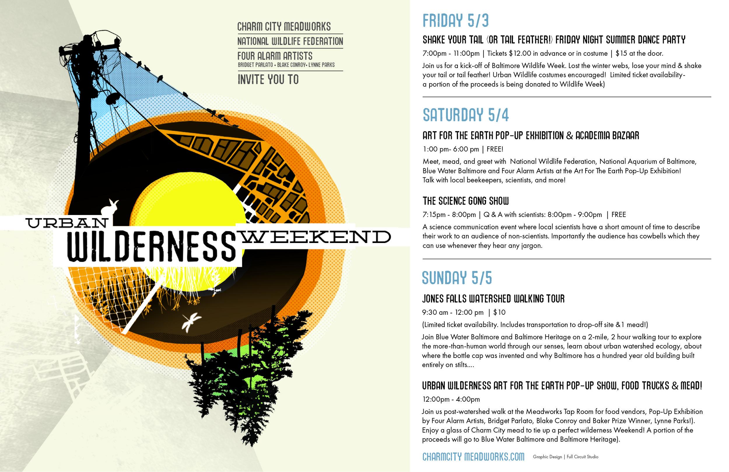 Urban Wilderness Weekend