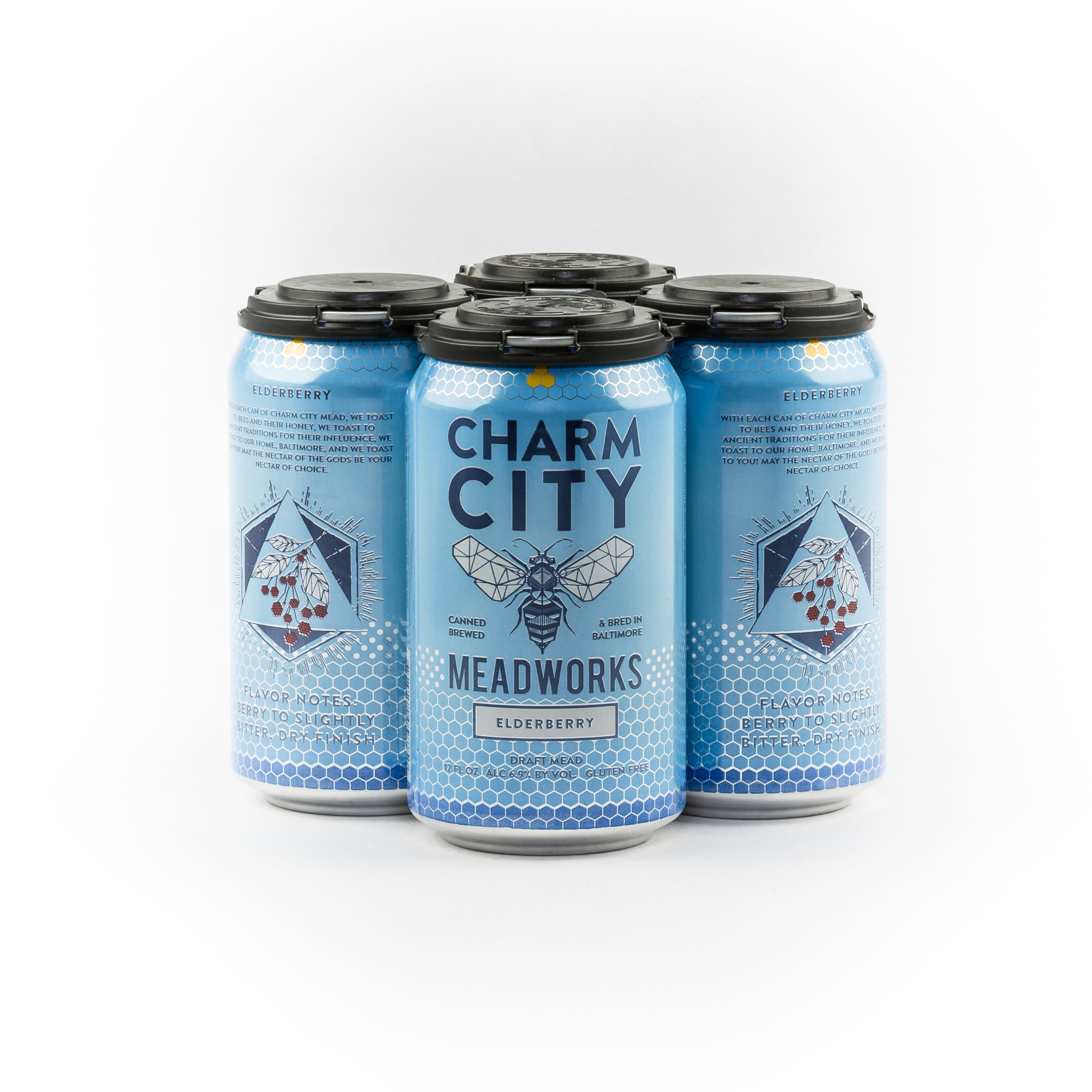 Elderberry Sparkling Canned Draft Mead