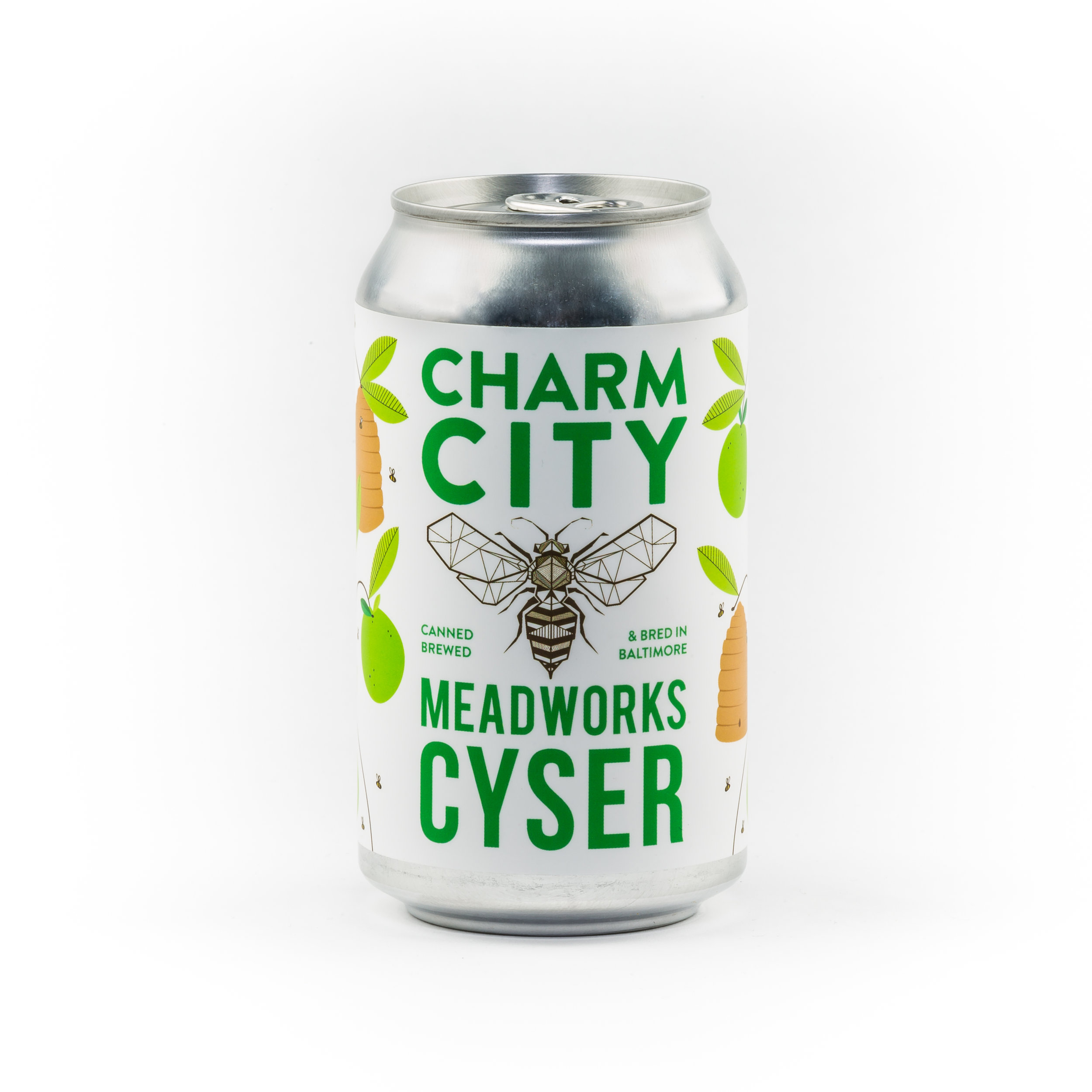 Charm City Meadworks Cyser Can Front