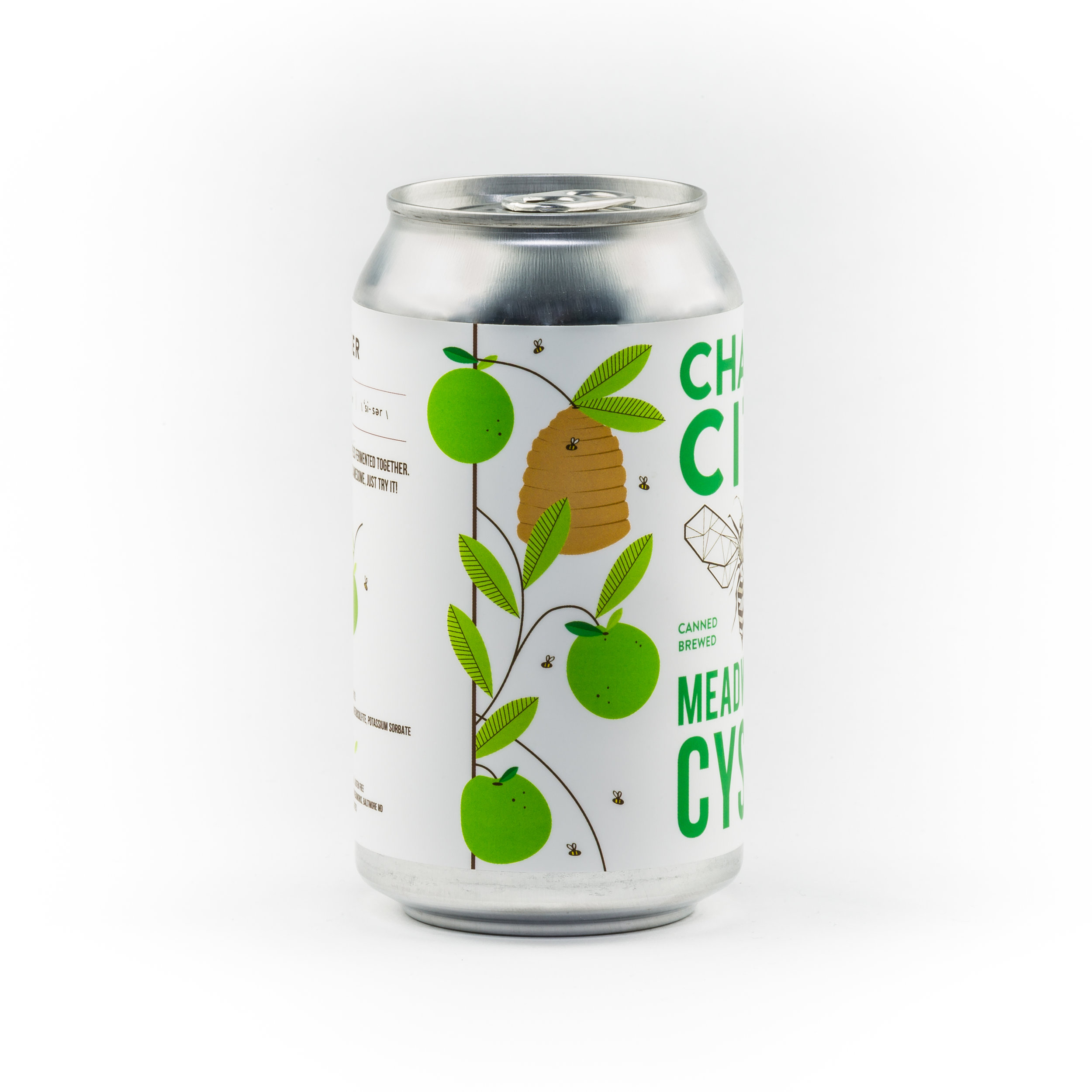 Cyser Sparkling Canned Draft Mead