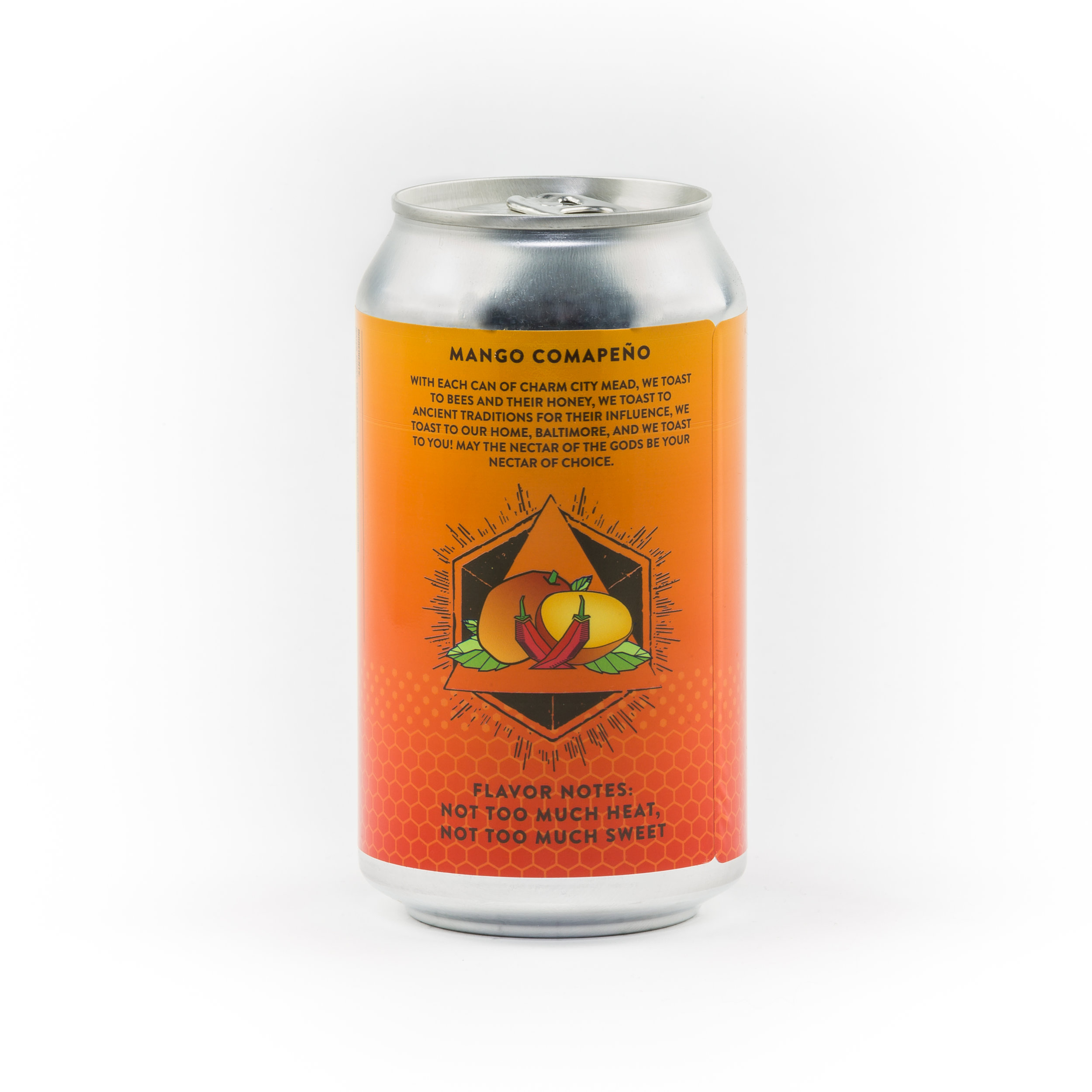Mango Comapeno Sparkling Canned Draft Mead