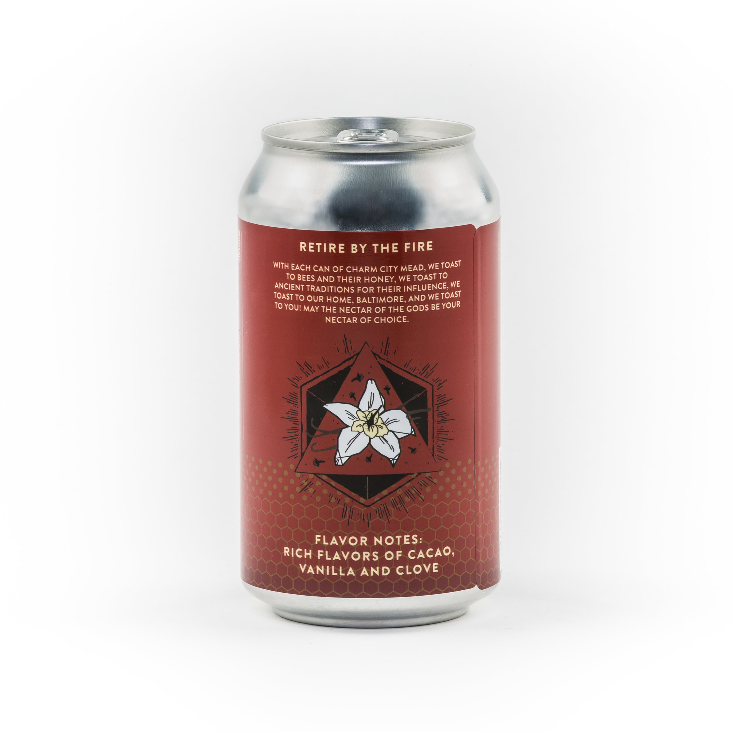 Retire by the Fire Cocoa Vanilla Sparkling Canned Draft Mead