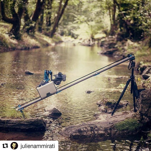 Portable moco 💪via @julienammirati  Stage One Sapphire Pro  #timelapse #photography #dynamicperception #motioncontrol