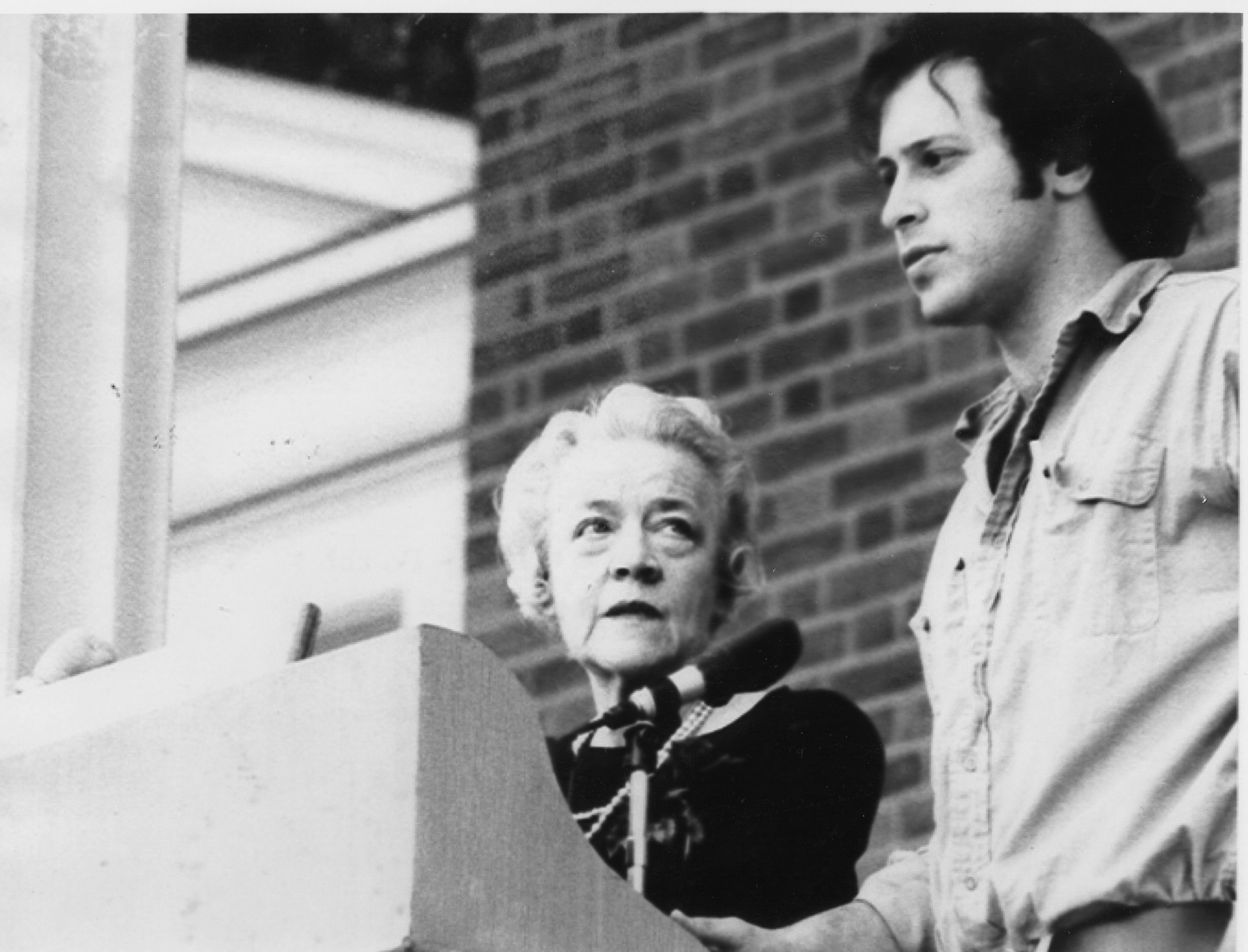 "1970: Delivers ""Second Declaration of Conscience"" speech in reaction to campus disruptions and antiwar protests."